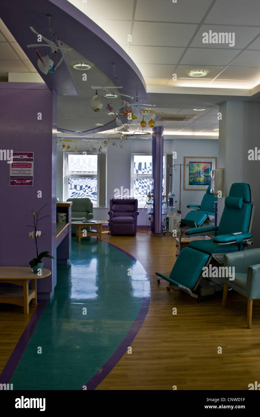 Modern Chemotherapy Unit - Stock Image