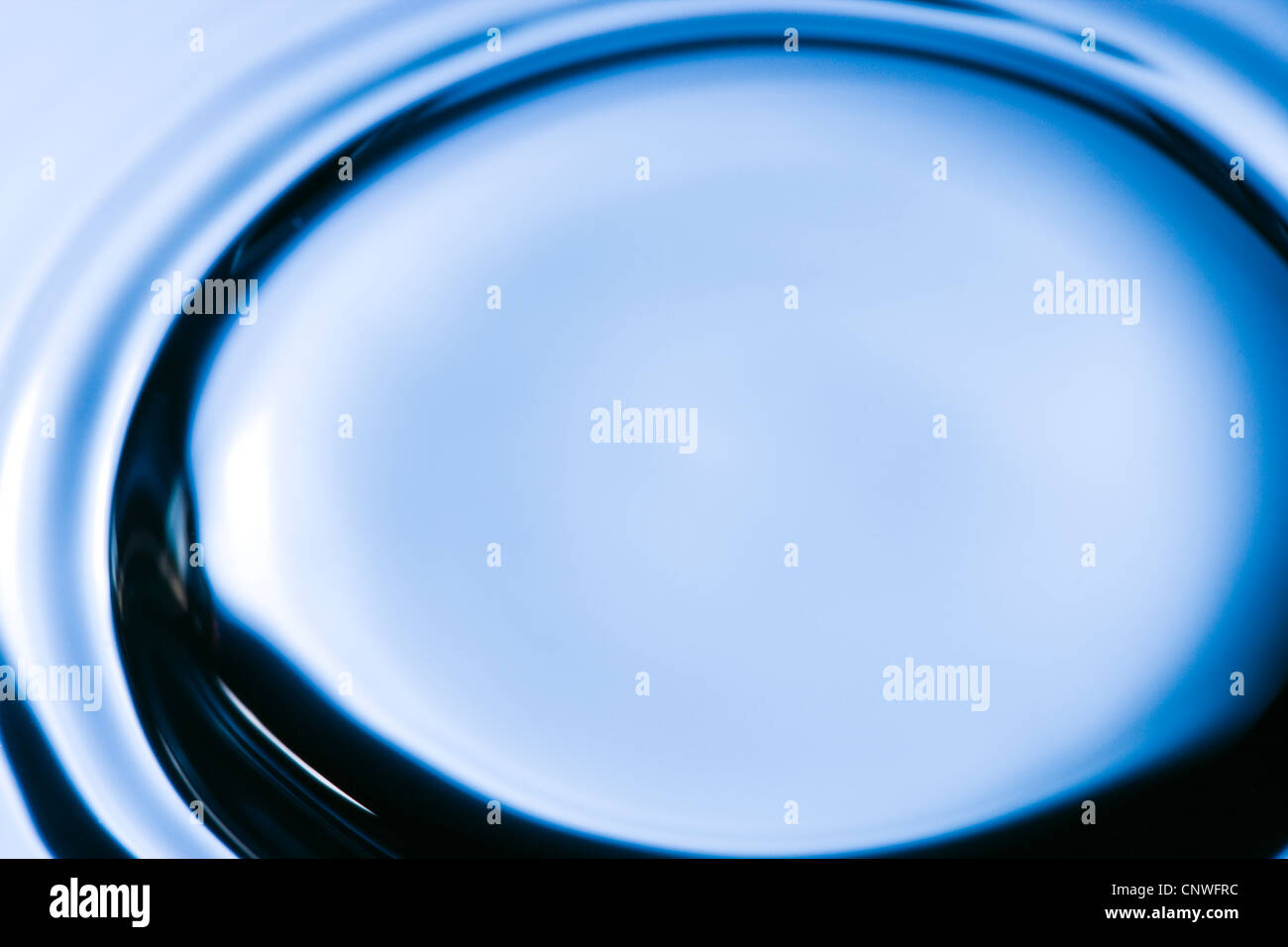 Ripples on water. - Stock Image