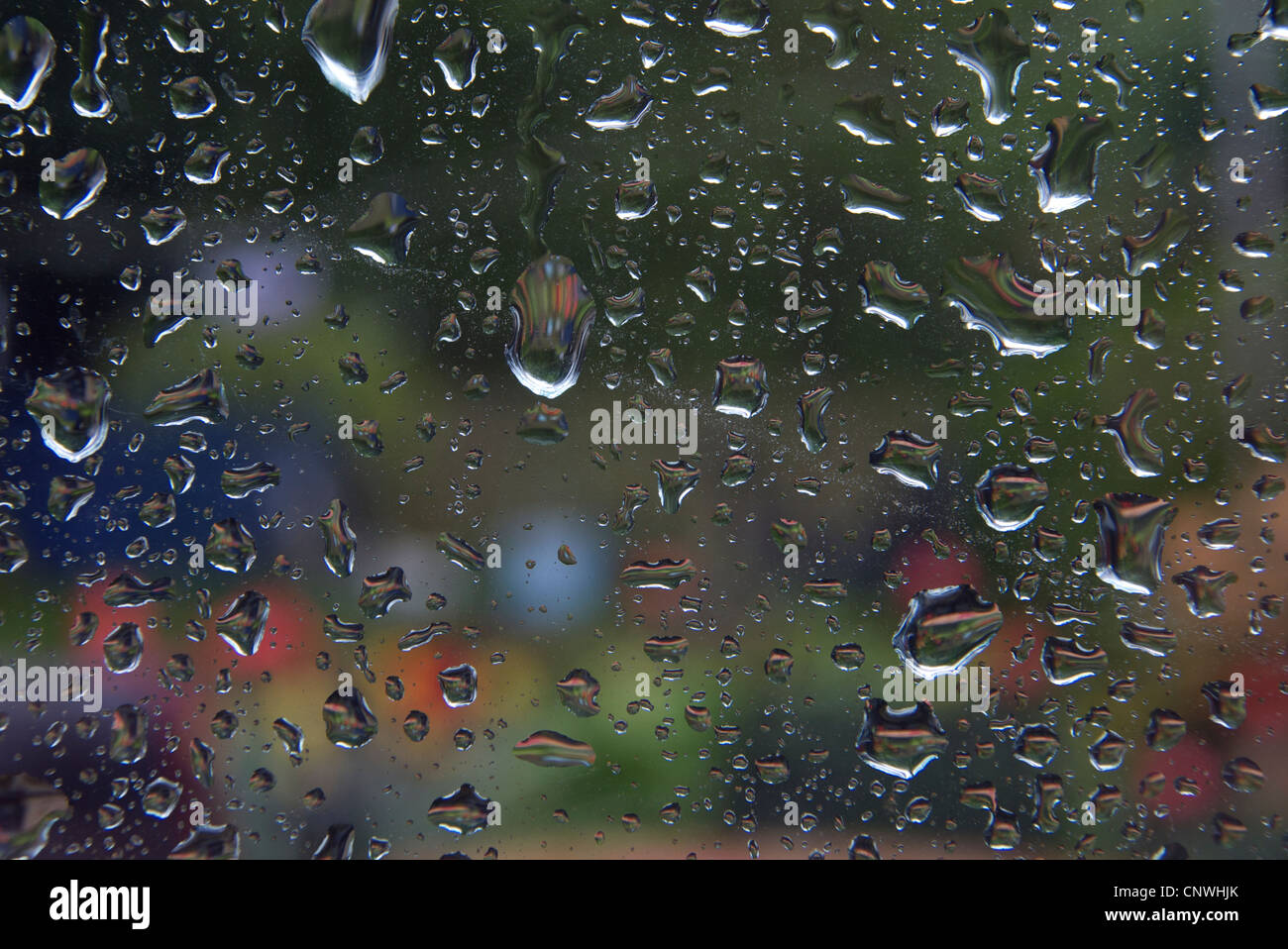 April Showers - Stock Image