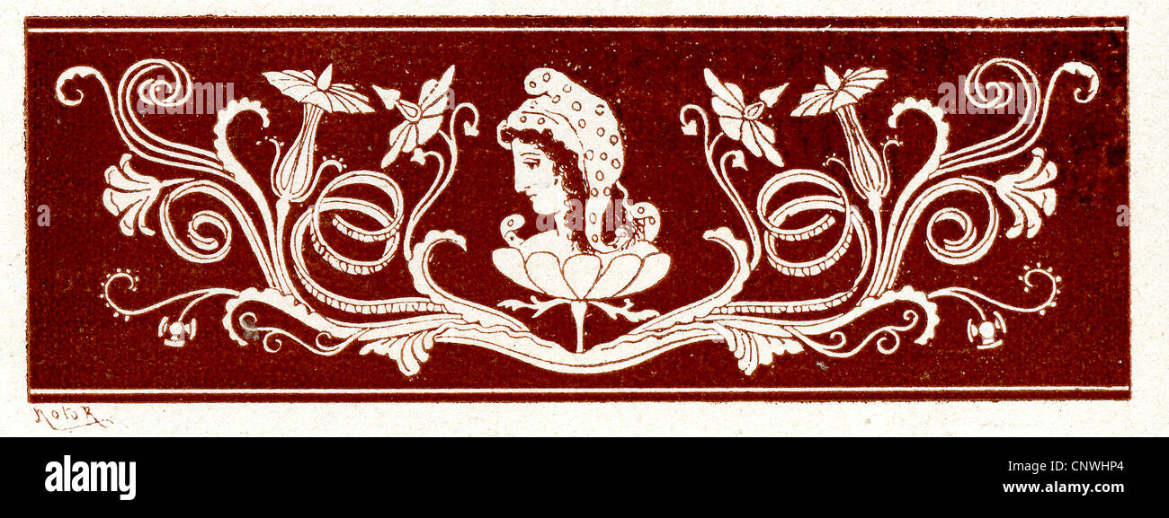 Ancient Greek design - Stock Image