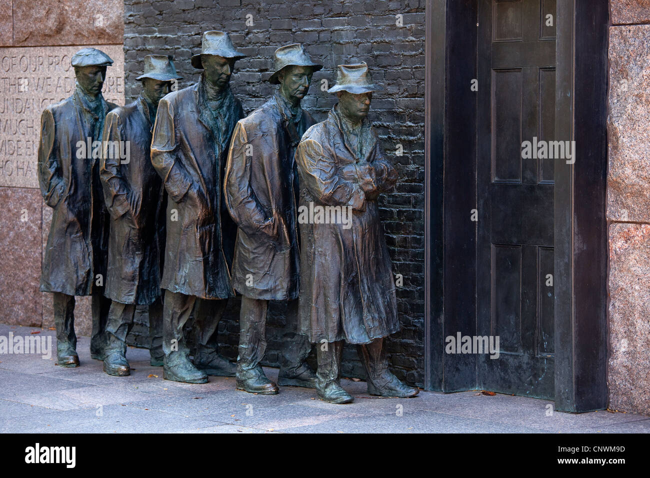 The Franklin D. Roosevelt Memorial - Stock Image