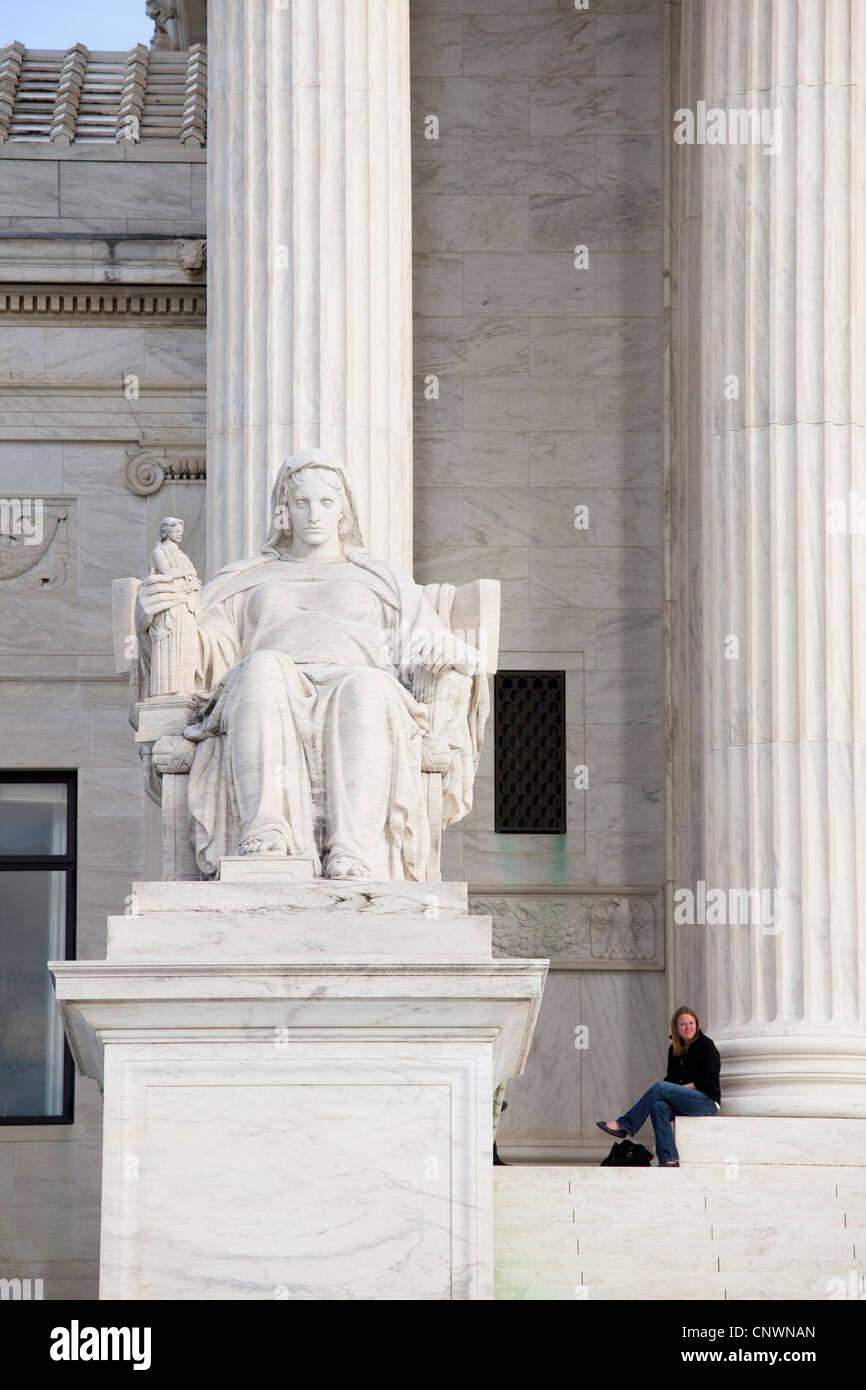 The Supreme Court - Stock Image
