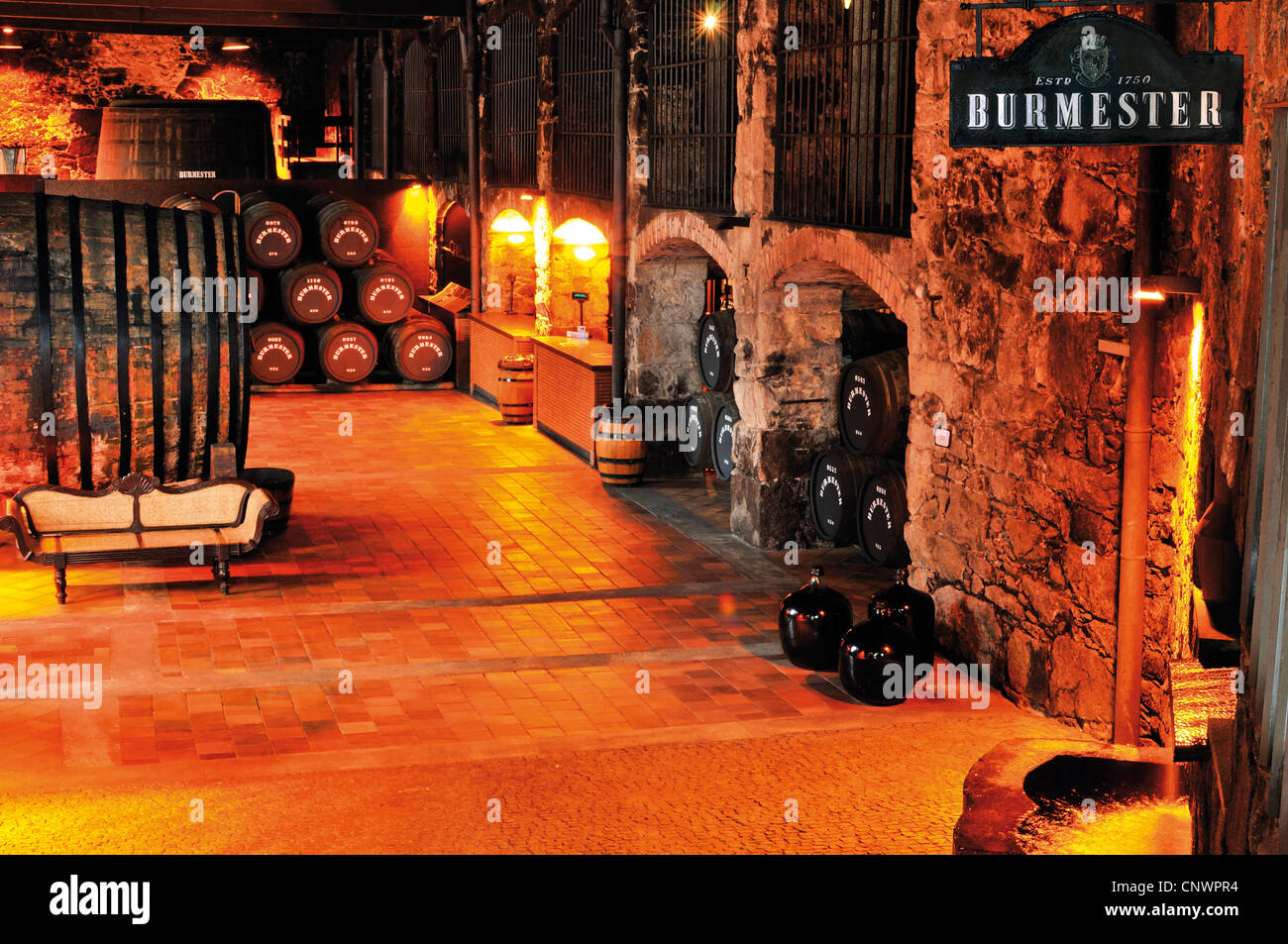 Portugal Traditional Port Wine Producer And Wine Cellar Burmester Stock Photo Alamy