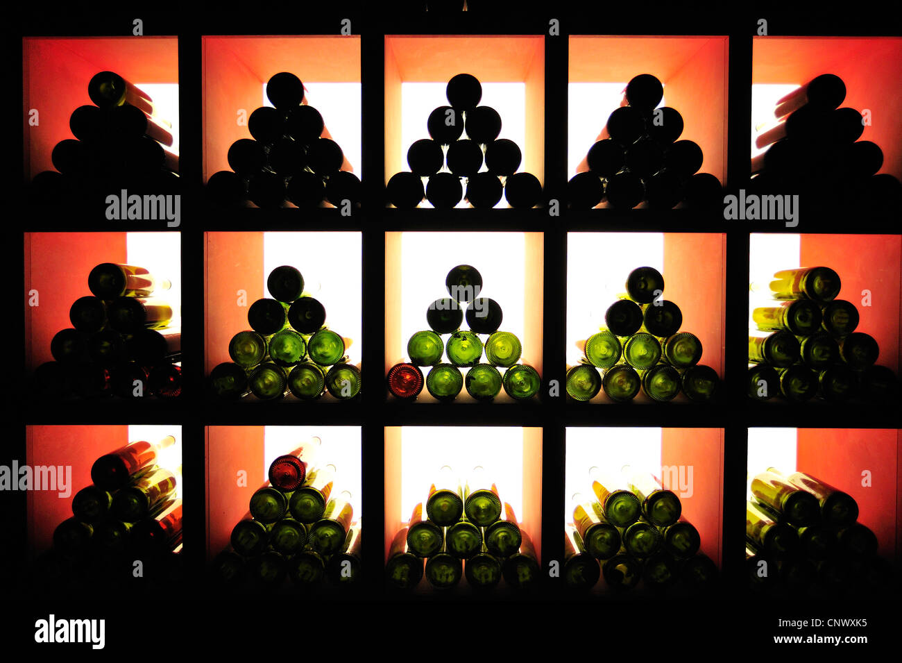 Museo del Vino, Barolo, Langhe, Province of Cuneo, Piedmont, Italy - Stock Image