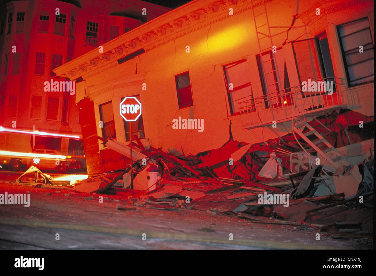 d5b45e07 Marina District Loma Prieta Earthquake San Francisco California ...