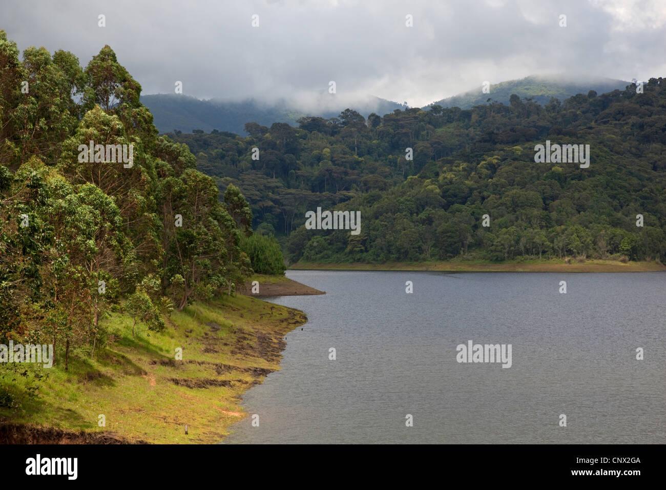storage lake, Burundi, Kirundo, Kirundo - Stock Image