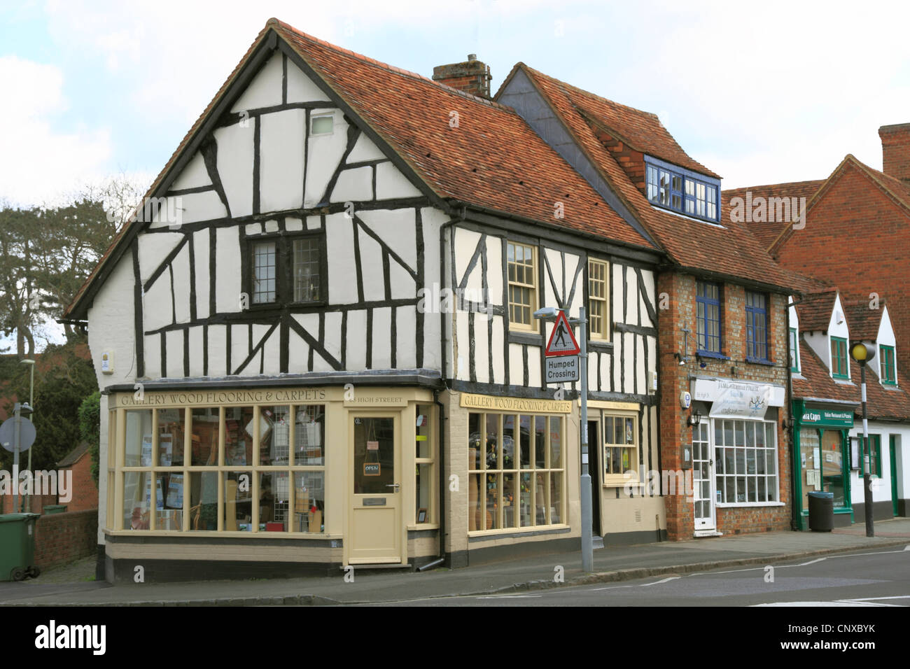 England Oxfordshire Thame High street - Stock Image