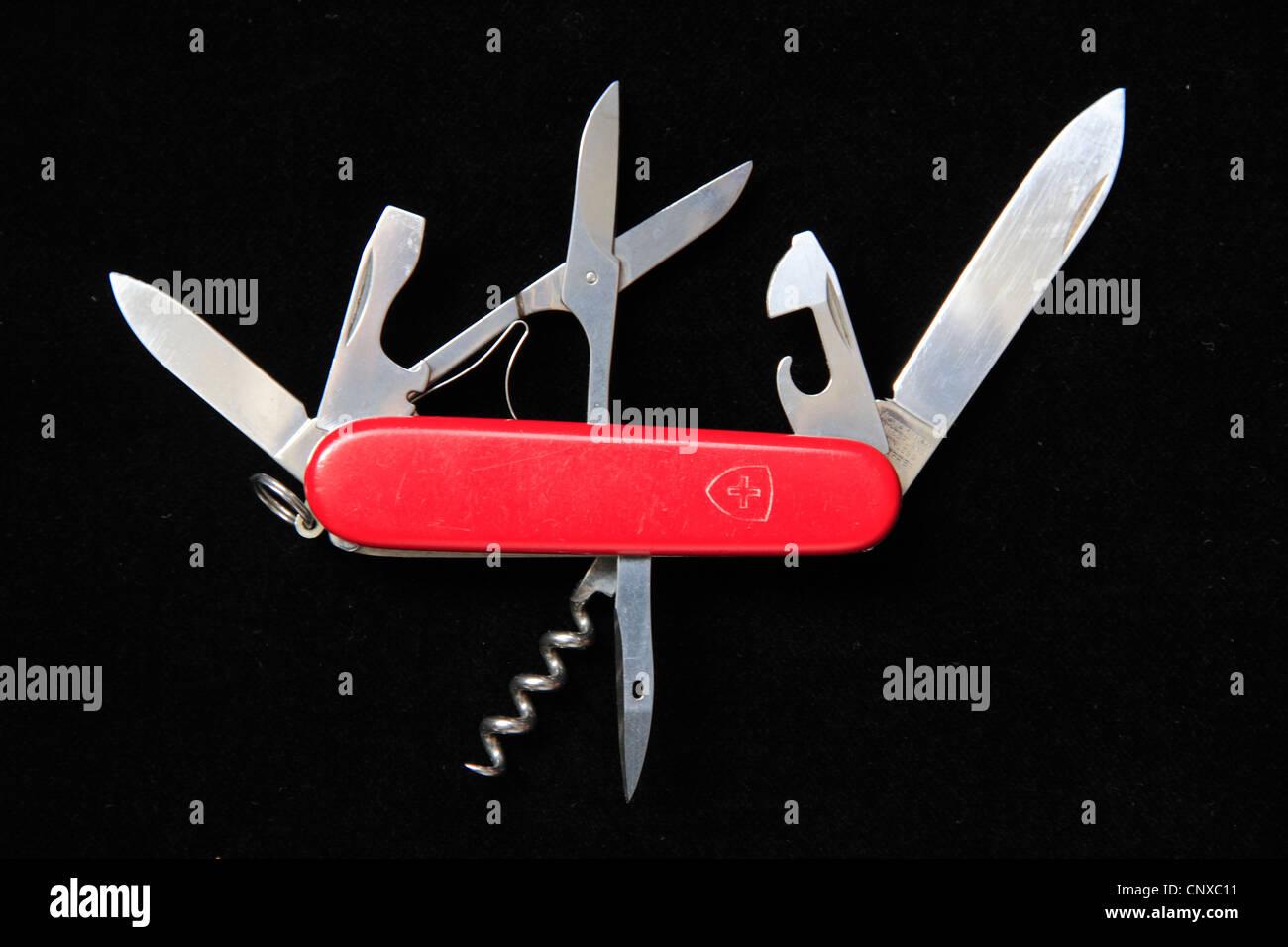 Swiss Army knife - Stock Image