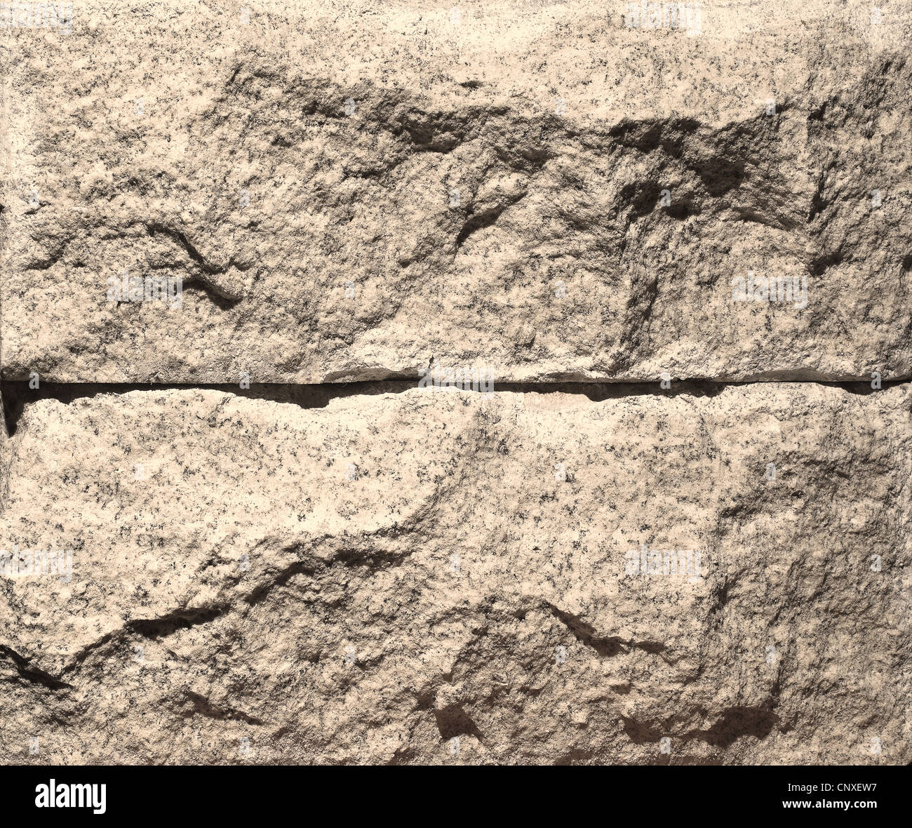 Surface of the multi-colored limestone. texture close-up - Stock Image