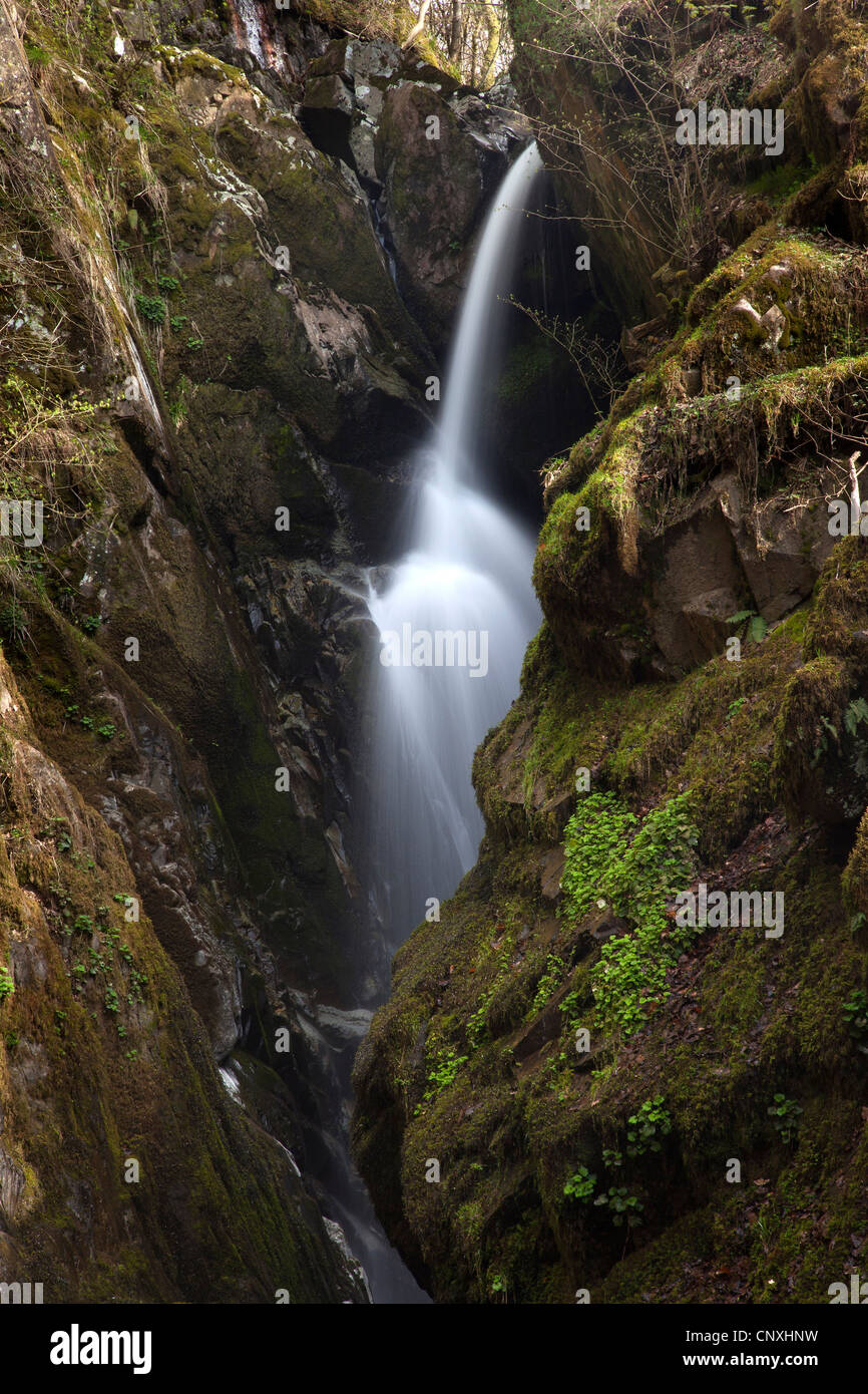 Aira Force, Ullswater, Lake District National Park, Cumbria Stock Photo