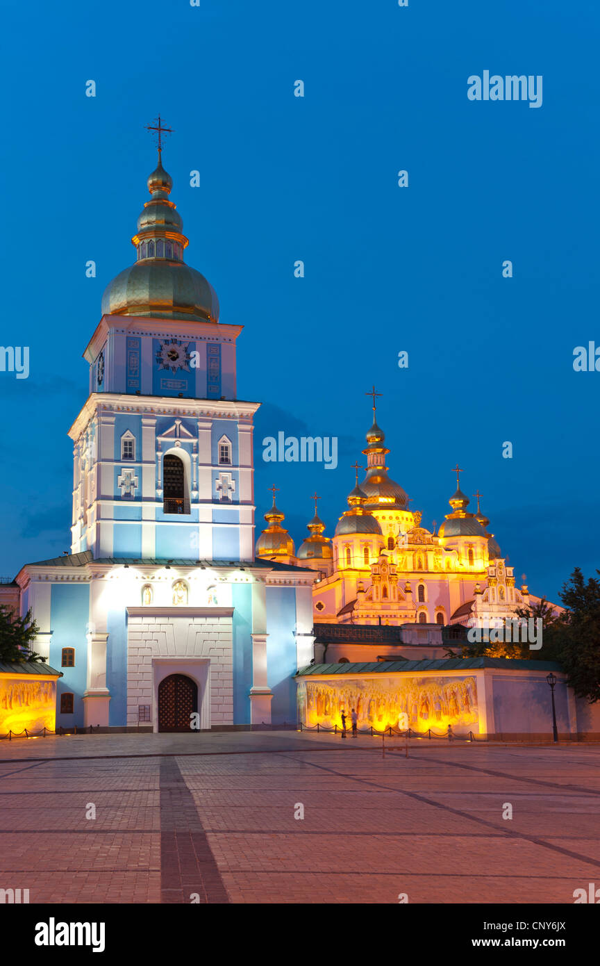 St Michael's Church, Kiev, Ukraine, Europe. - Stock Image