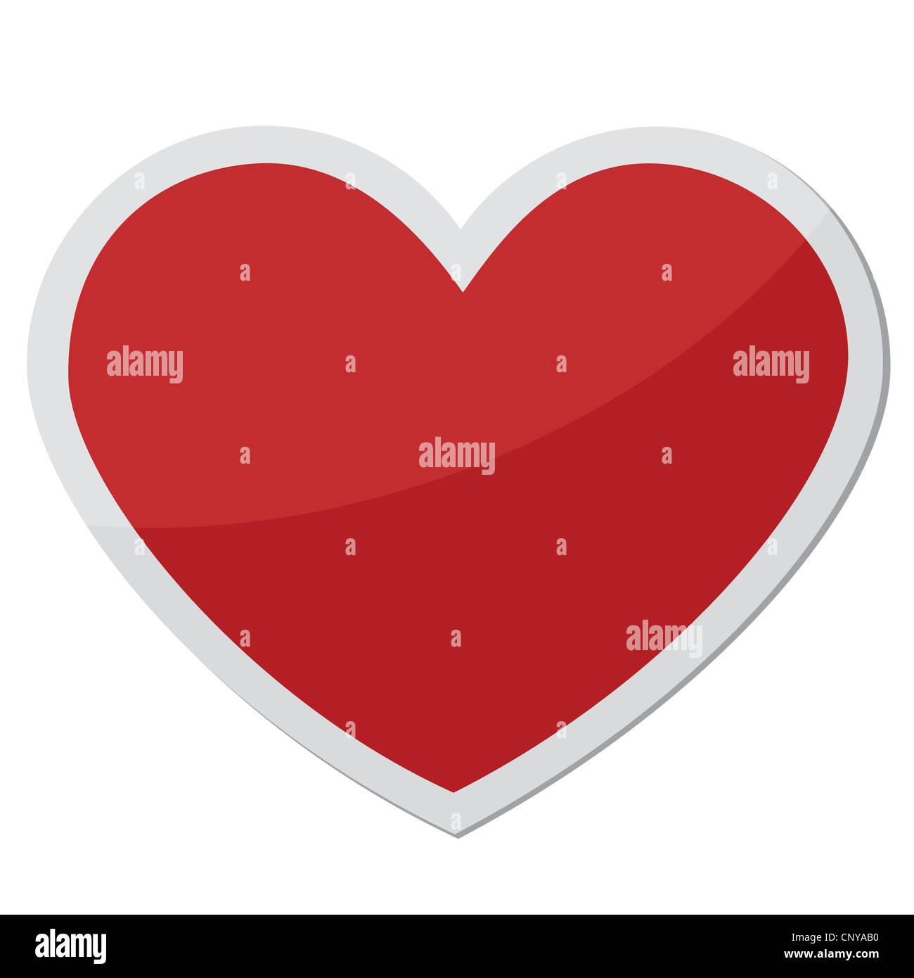 Heart Shape Design For Love Symbols Stock Photo 47929364 Alamy