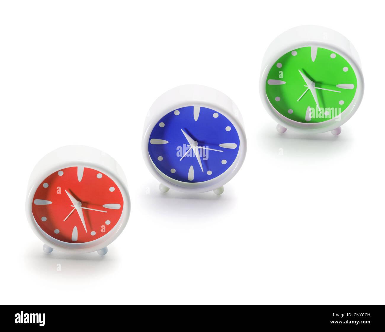 Alarm Clocks - Stock Image