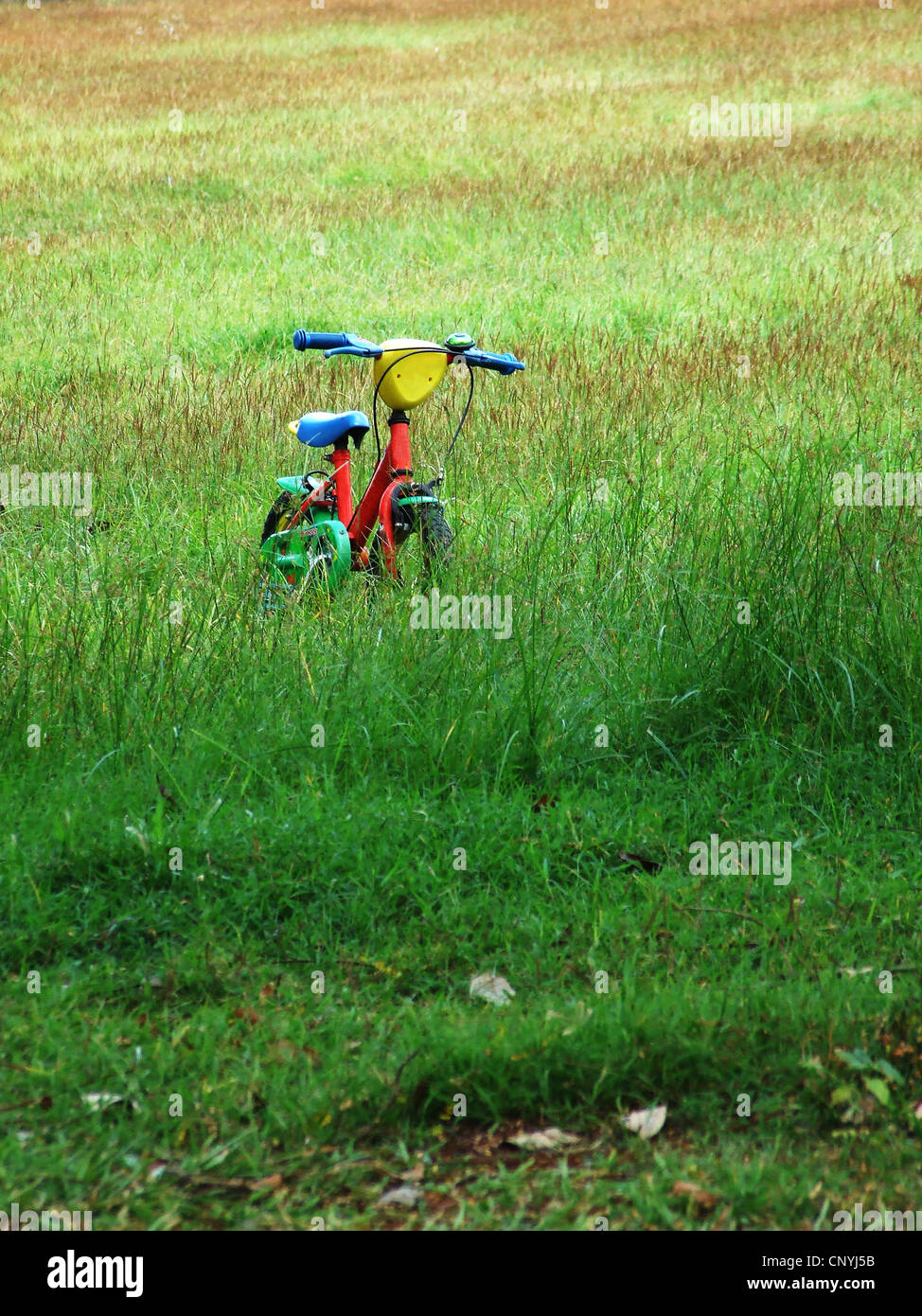 A child's bicycle - Stock Image