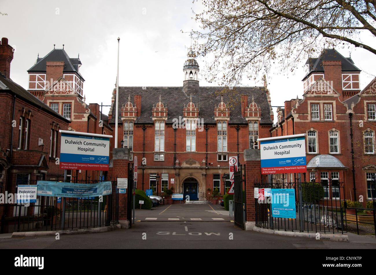 Dulwich Community Hospital - Stock Image