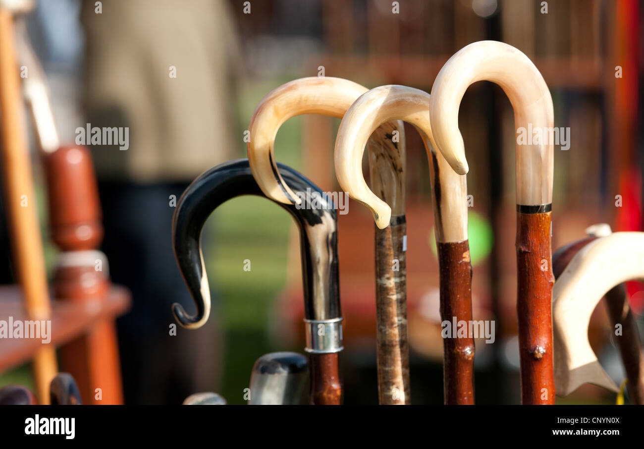 Shepherd's crook at Country Fair - Stock Image