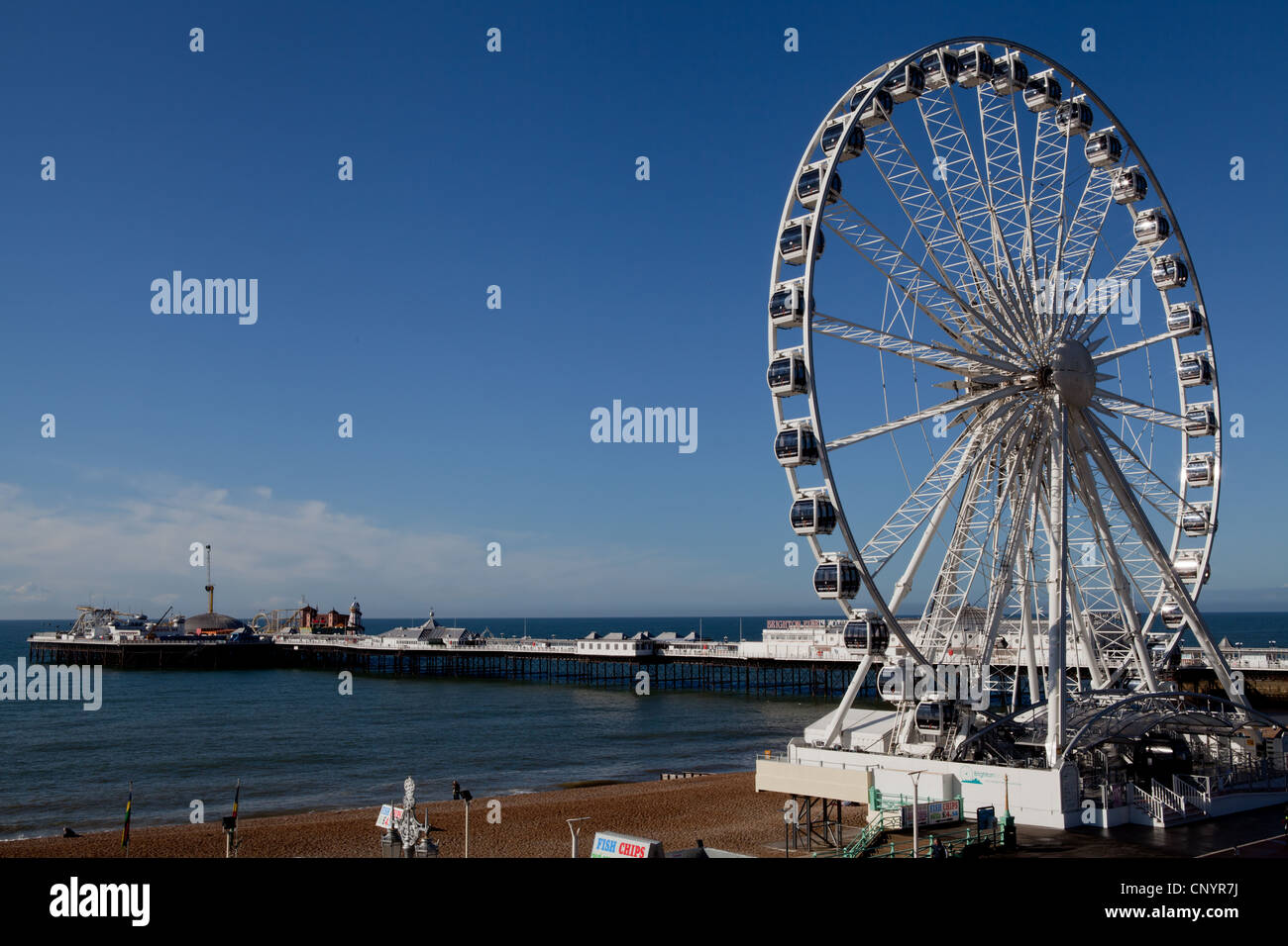 Wheel of excellence in Brighton - Stock Image