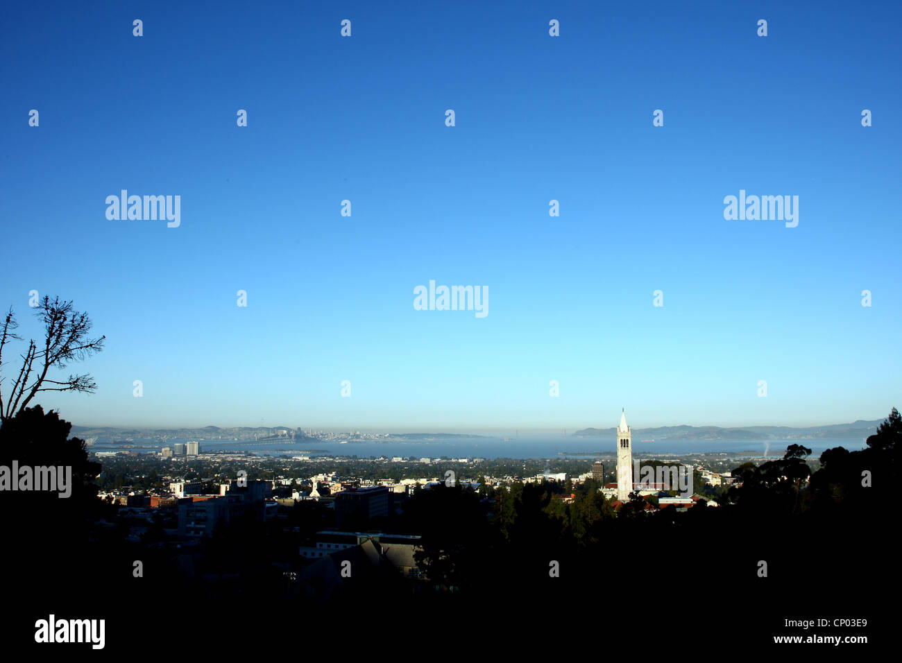 SATHER TOWER BERKELEY UNIVERSITY BERKELEY UNIVERSITY OF CALIFORNIA USA 06 October 2011 - Stock Image