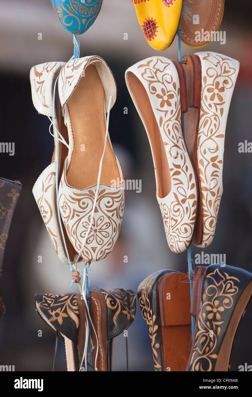 3cf9787206c Moroccan Shoes Stock Photos   Moroccan Shoes Stock Images - Alamy
