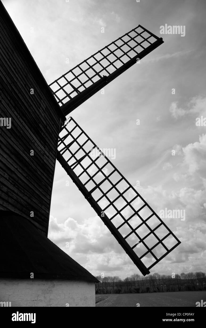 Pitstone Windmill, Ashridge Forest - Stock Image