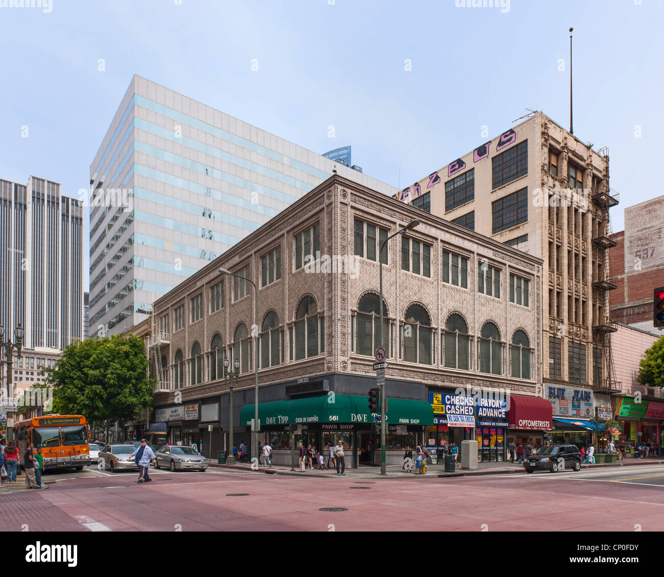 Sun Drug Co. Building, Los Angeles - Stock Image