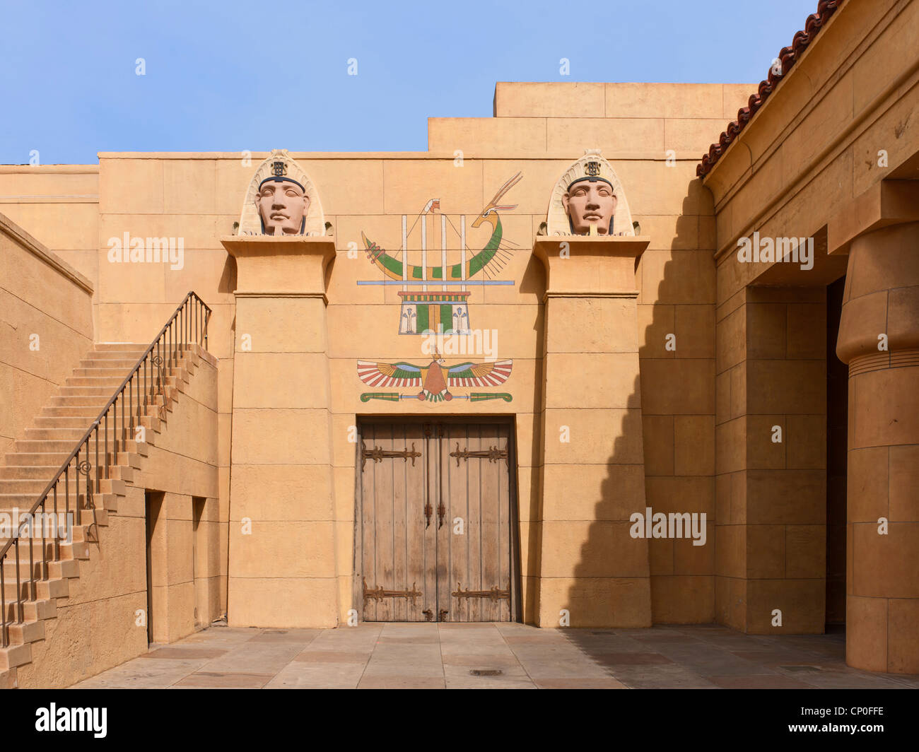 Grauman's Egyptian Theatre, Hollywood, Los Angeles - Stock Image