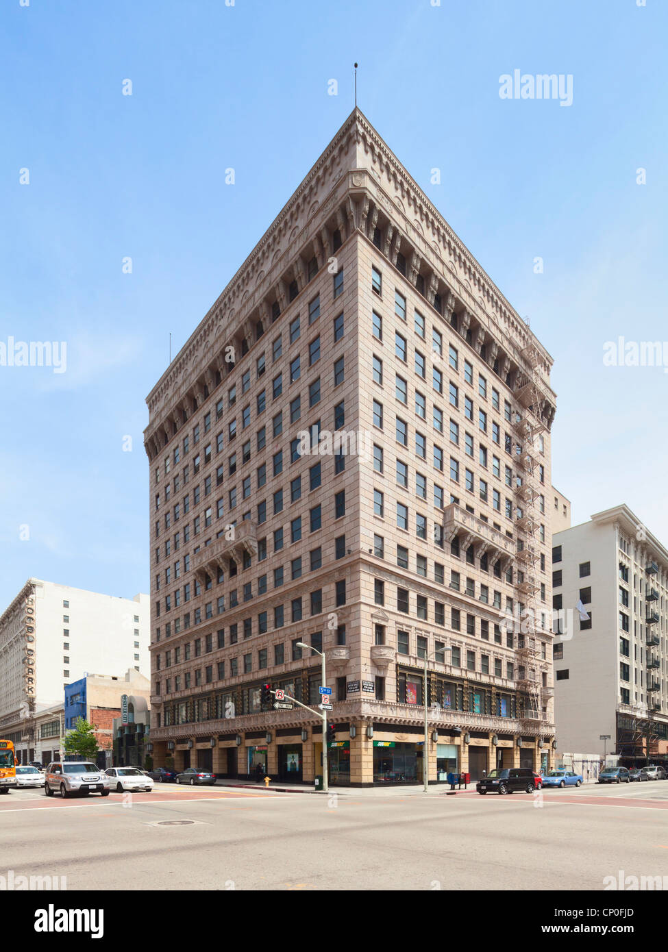 Pershing Square Building Los Angeles - Stock Image
