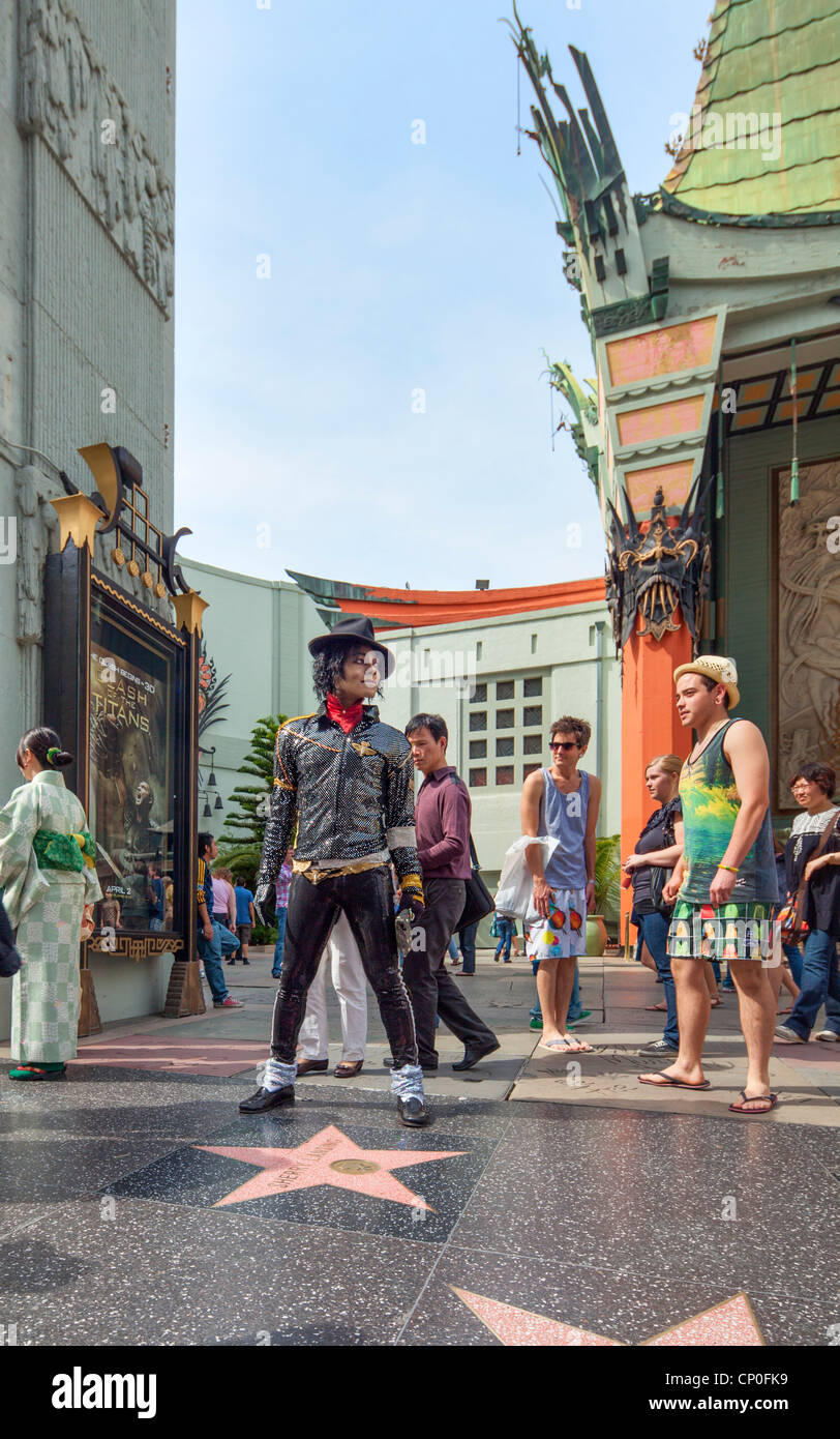 Grauman's Chinese Theater, Hollywood, Los Angeles - Stock Image