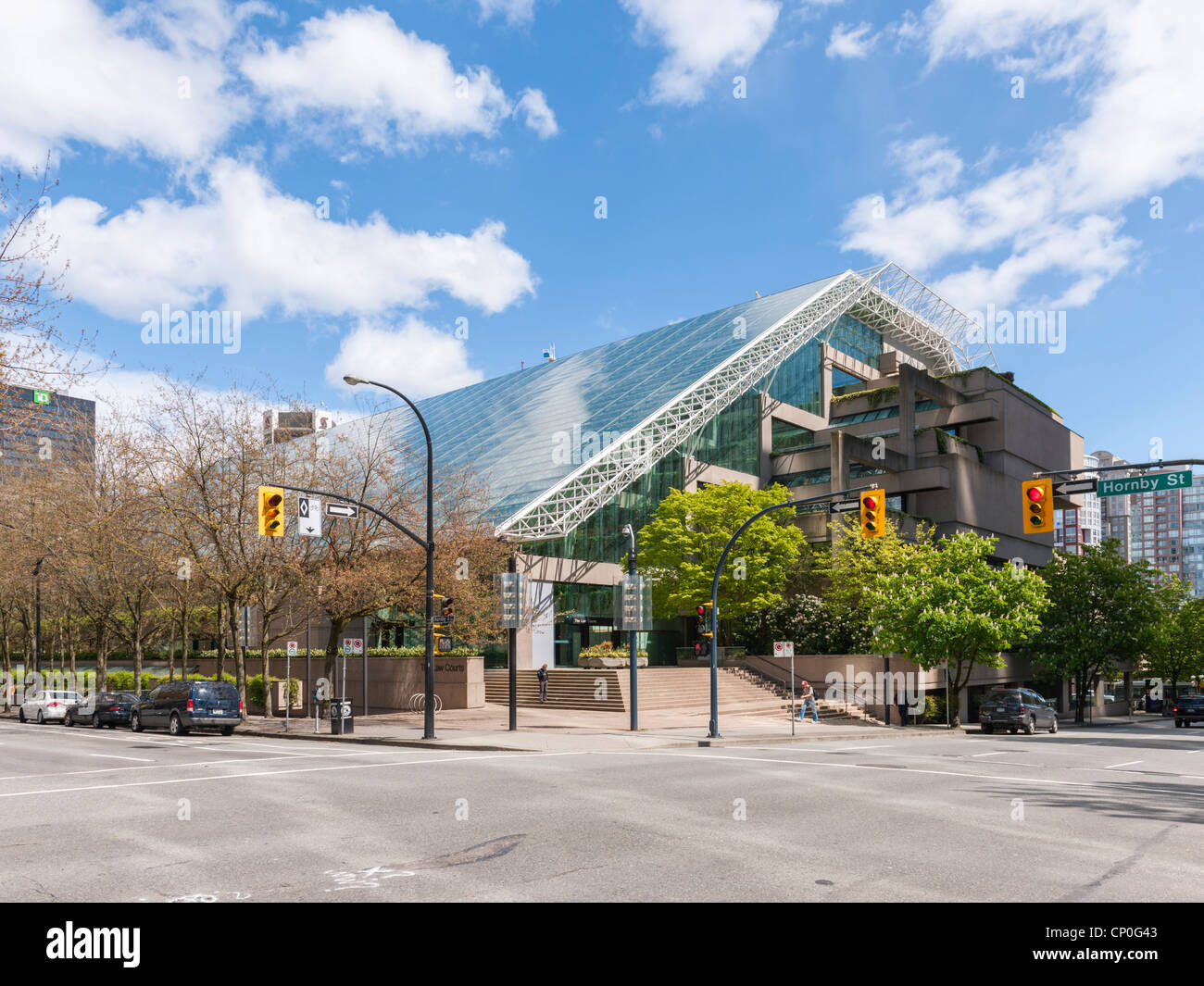 Law Courts, Vancouver - Stock Image