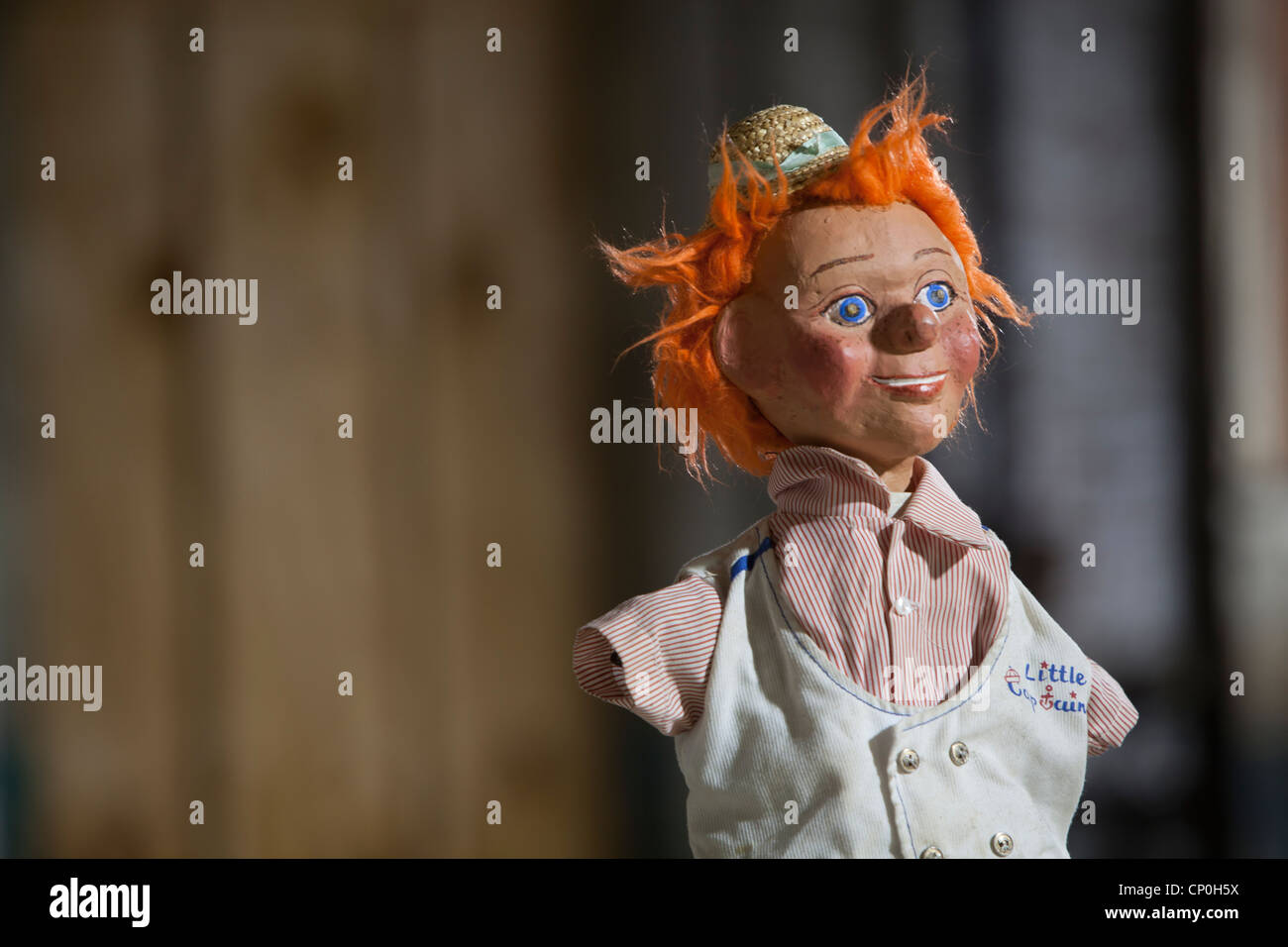 Creepy, bizarre manniquin doll - Stock Image