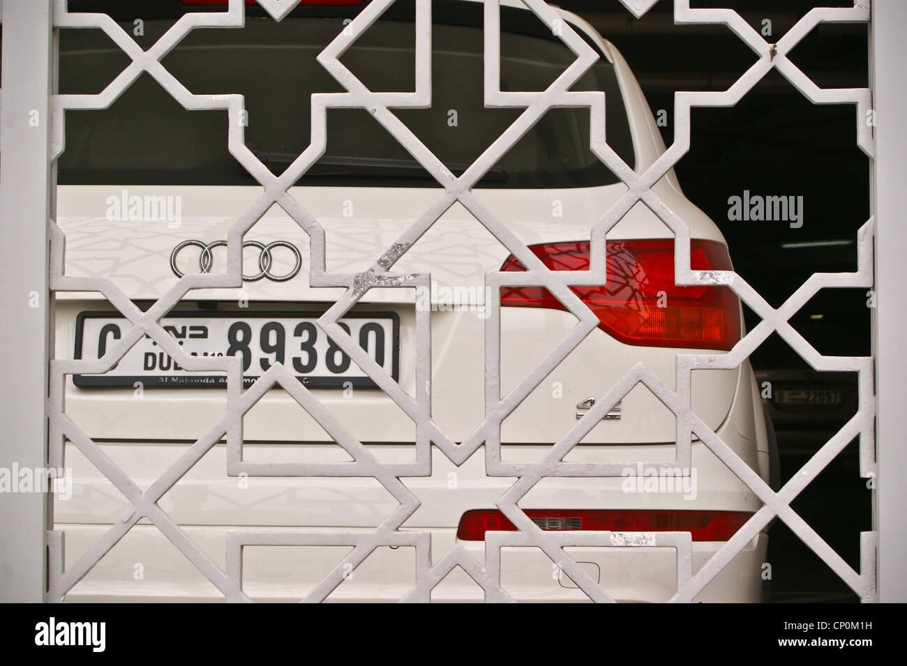 An Audi Quattro With Dubai Number Plate United Arab