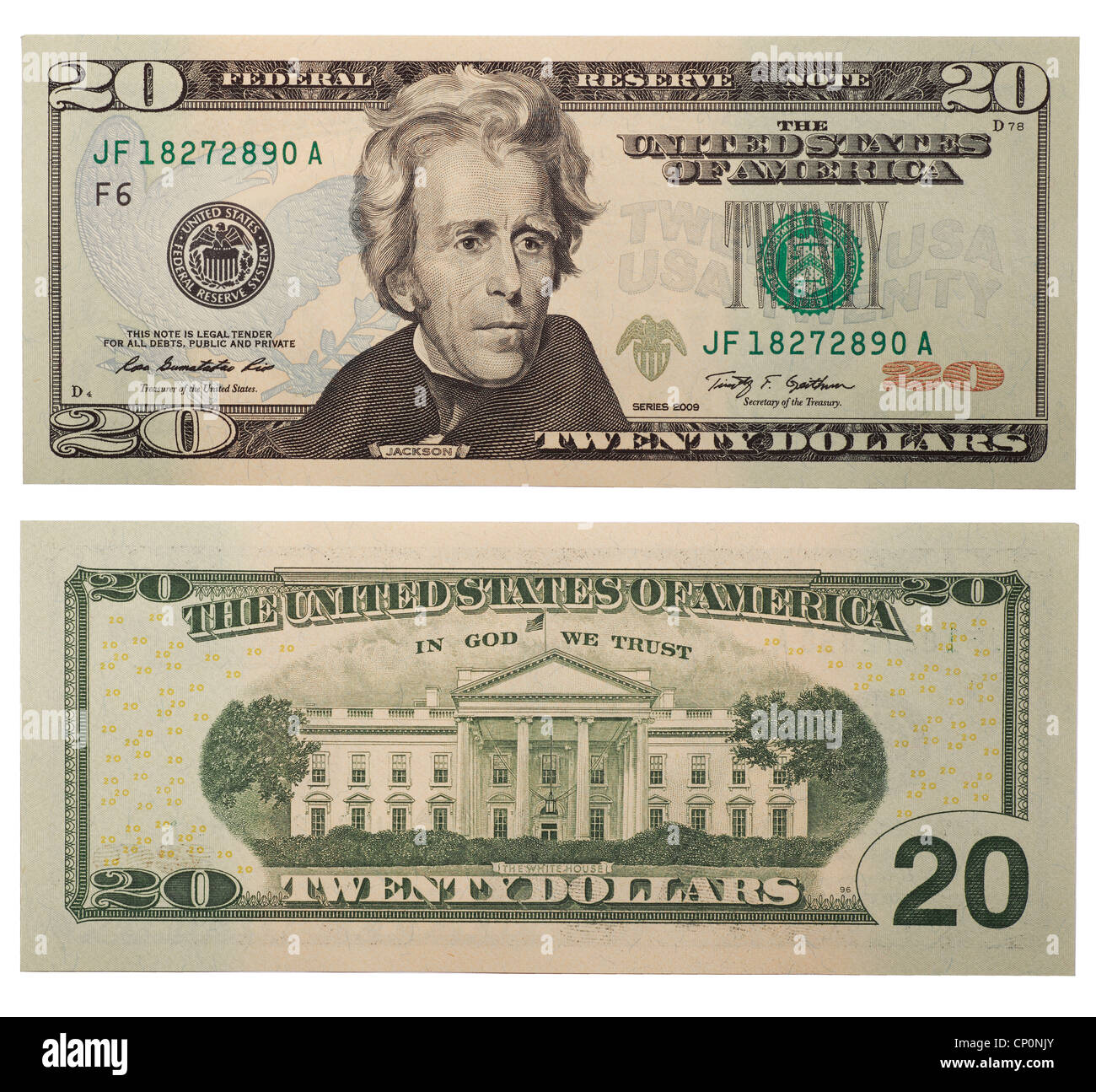 Back And Front Dollar Bill Stock Photos Back And Front