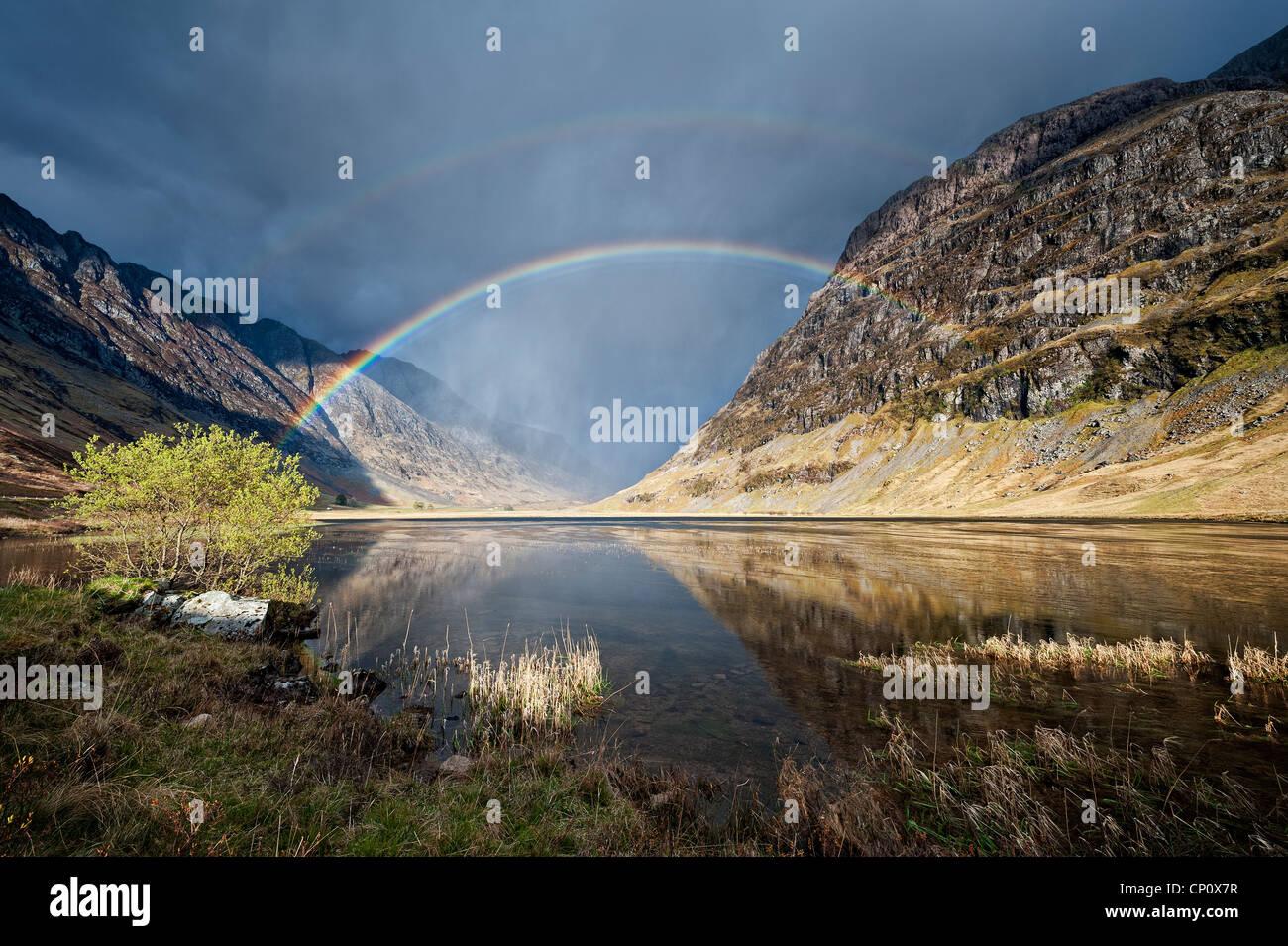 Loch Achtriochtan, Glen Coe - Stock Image