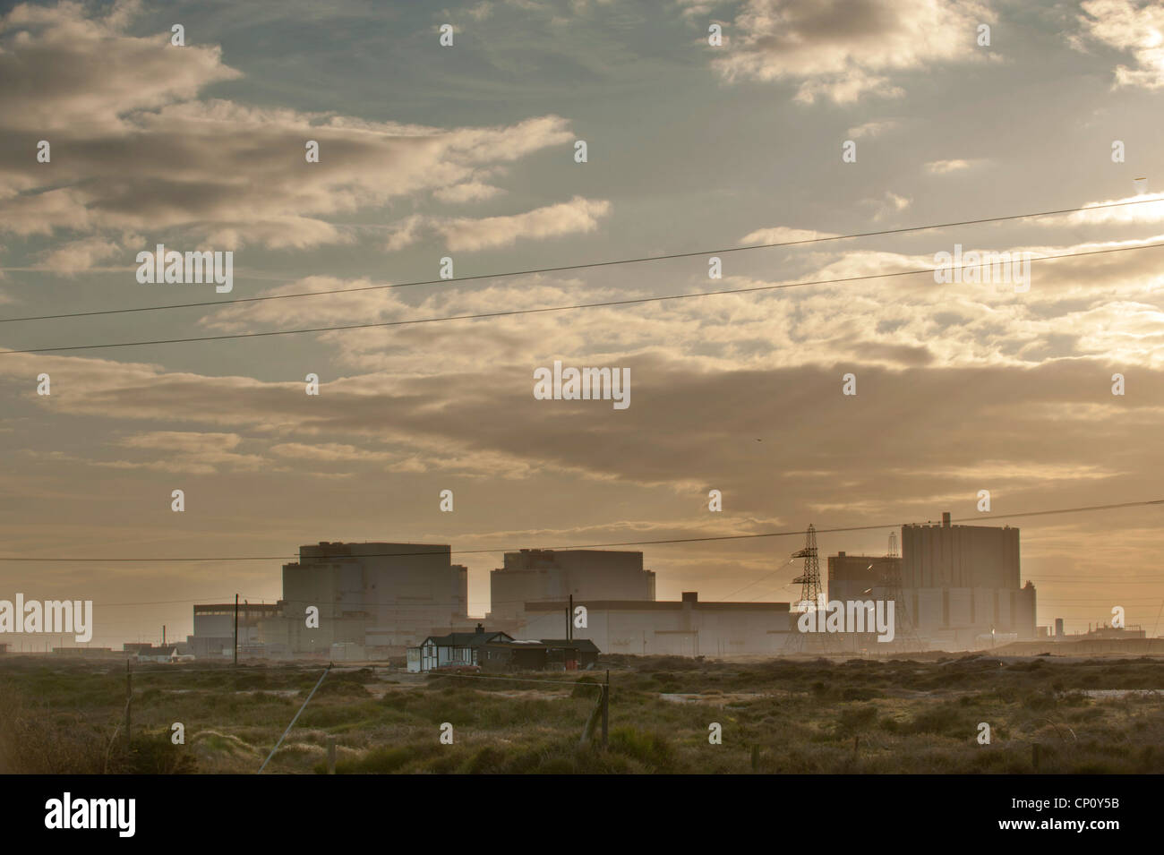 Dungeness Nuclear Power Station in Kent. - Stock Image