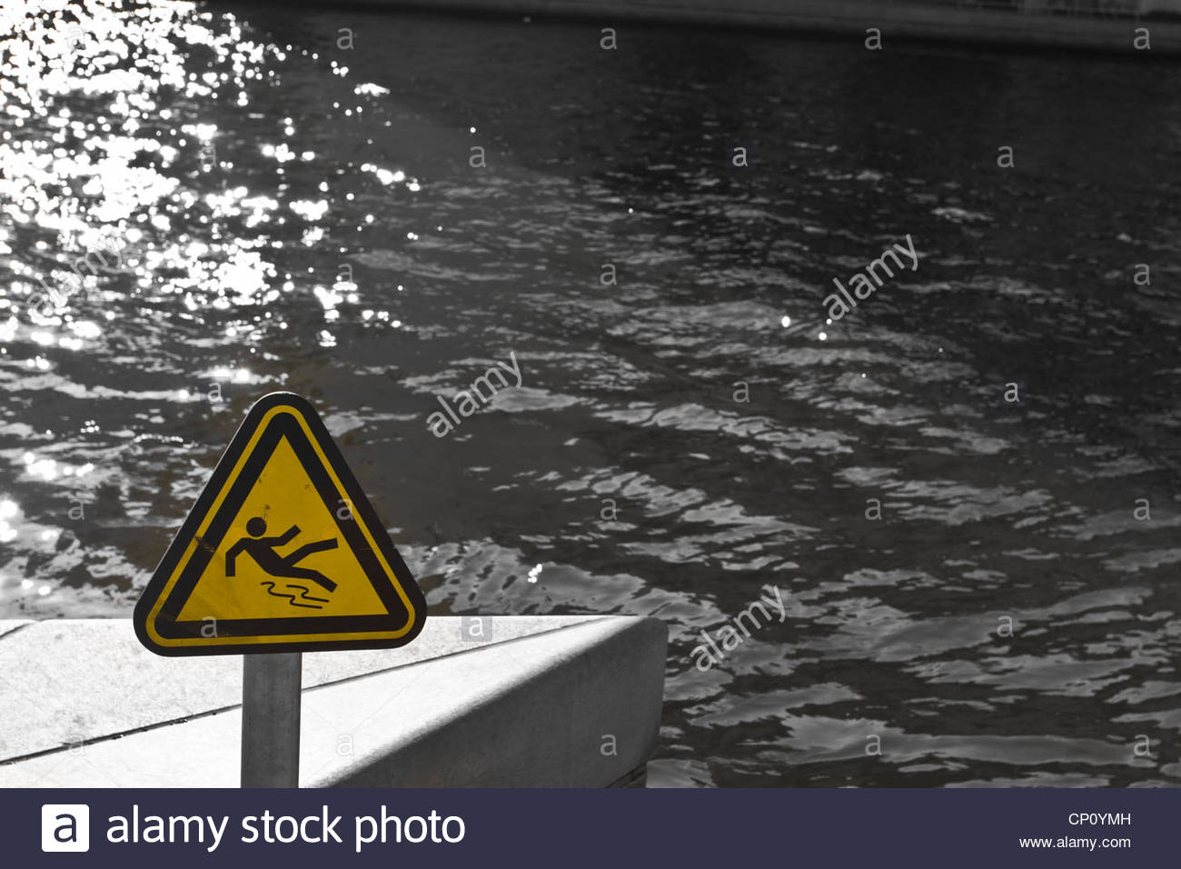 watch out - Stock Image
