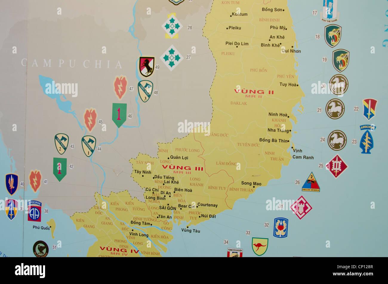 Ho Chi Minh Vietnam Map.Vietnam Ho Chi Minh City Aka Saigon Vietnam War Remnants Museum