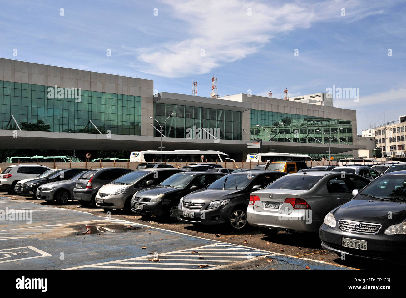Car Parking At An Airport Stock Photos Car Parking At An Airport