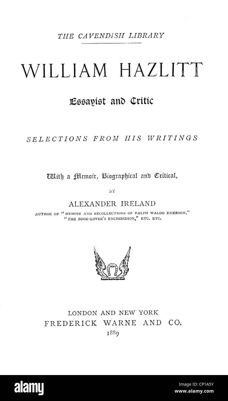Walter english essayist crossword