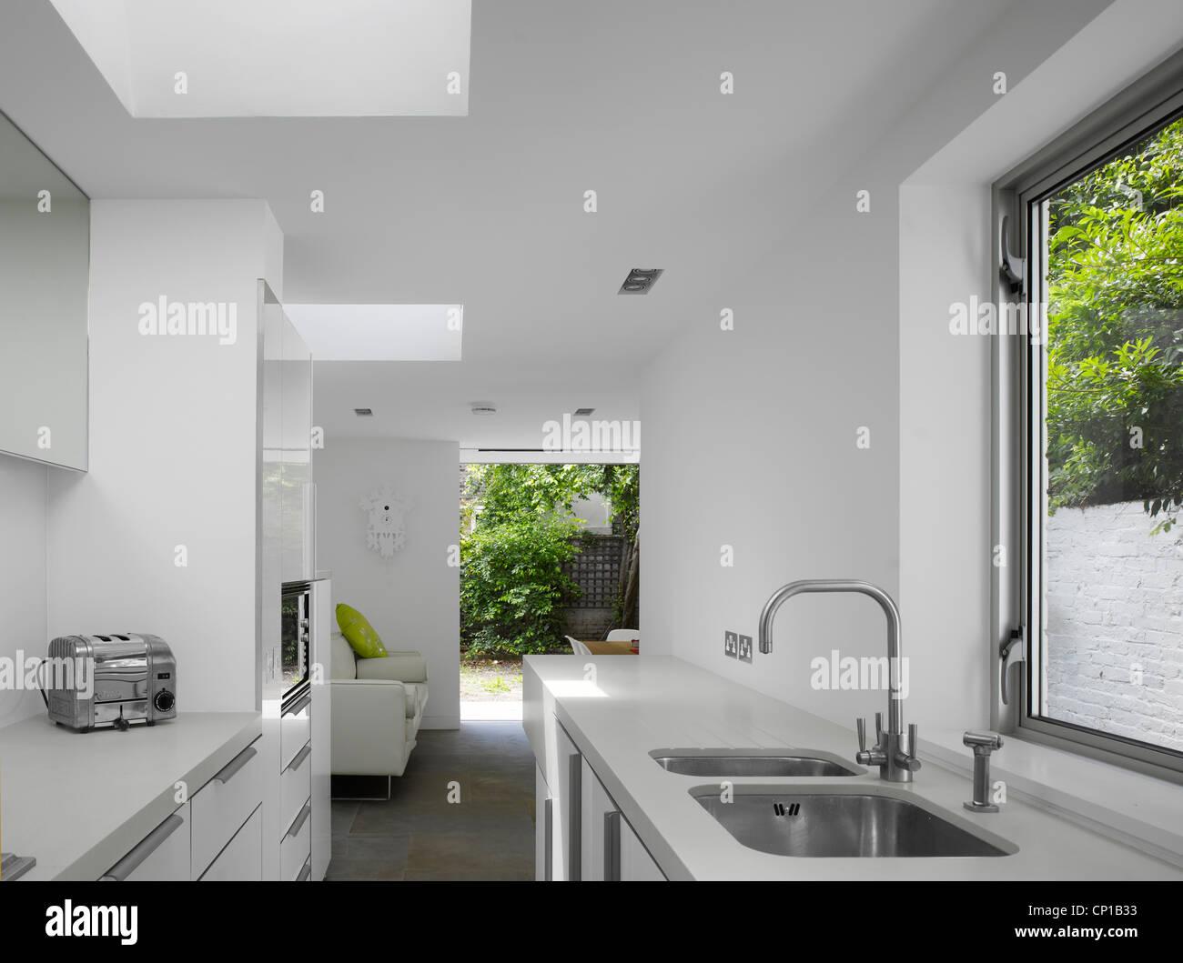 Kitchen Extension By Paul Archer Design London Uk Stock Photo