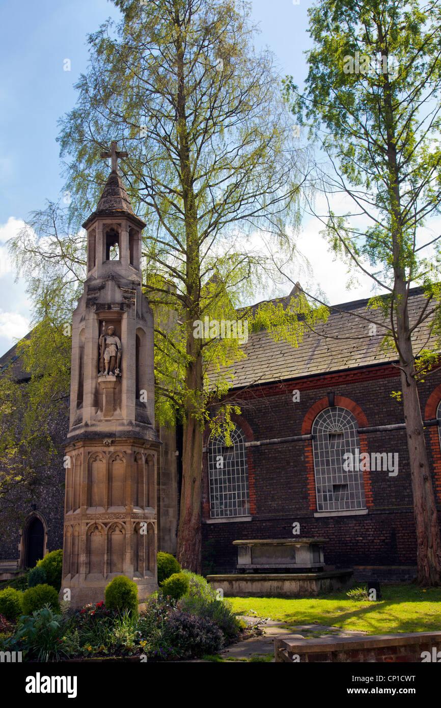 St Mary Magdalene Parish on Church Walk in Richmond - London Stock Photo