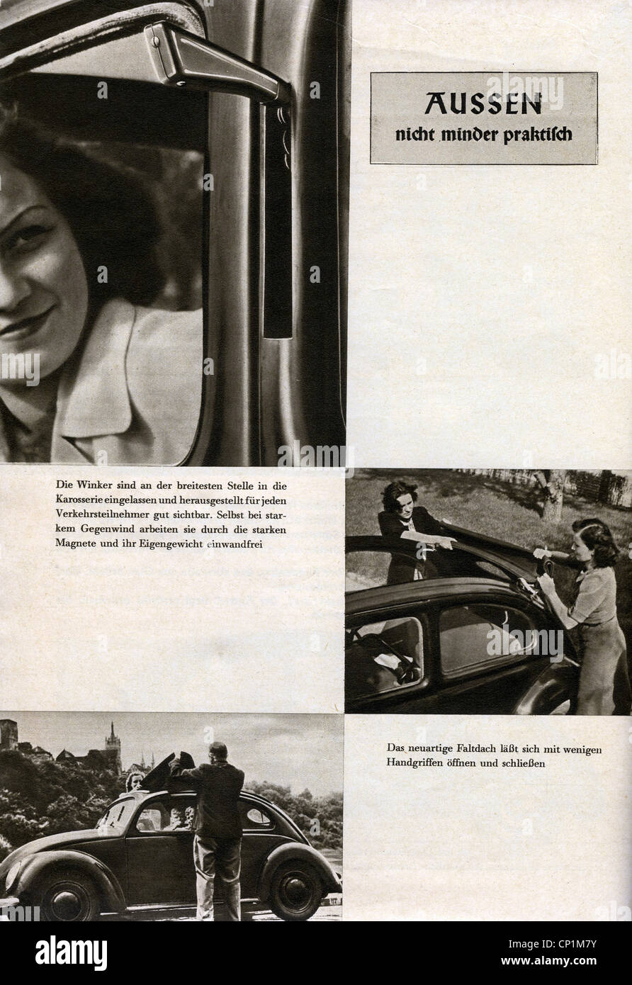 Nazism / National Socialism, organisations, 'Kraft durch Freude' ('Strength through Joy', KdF), - Stock Image