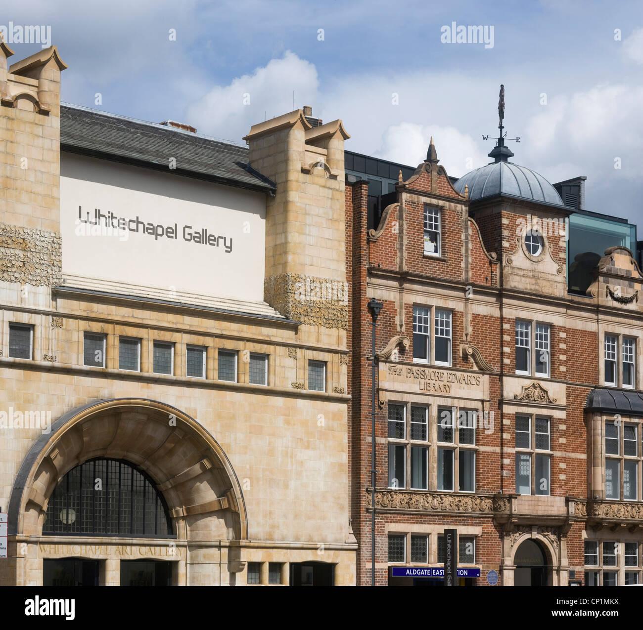Whitechapel Art Gallery, London, England. Stock Photo