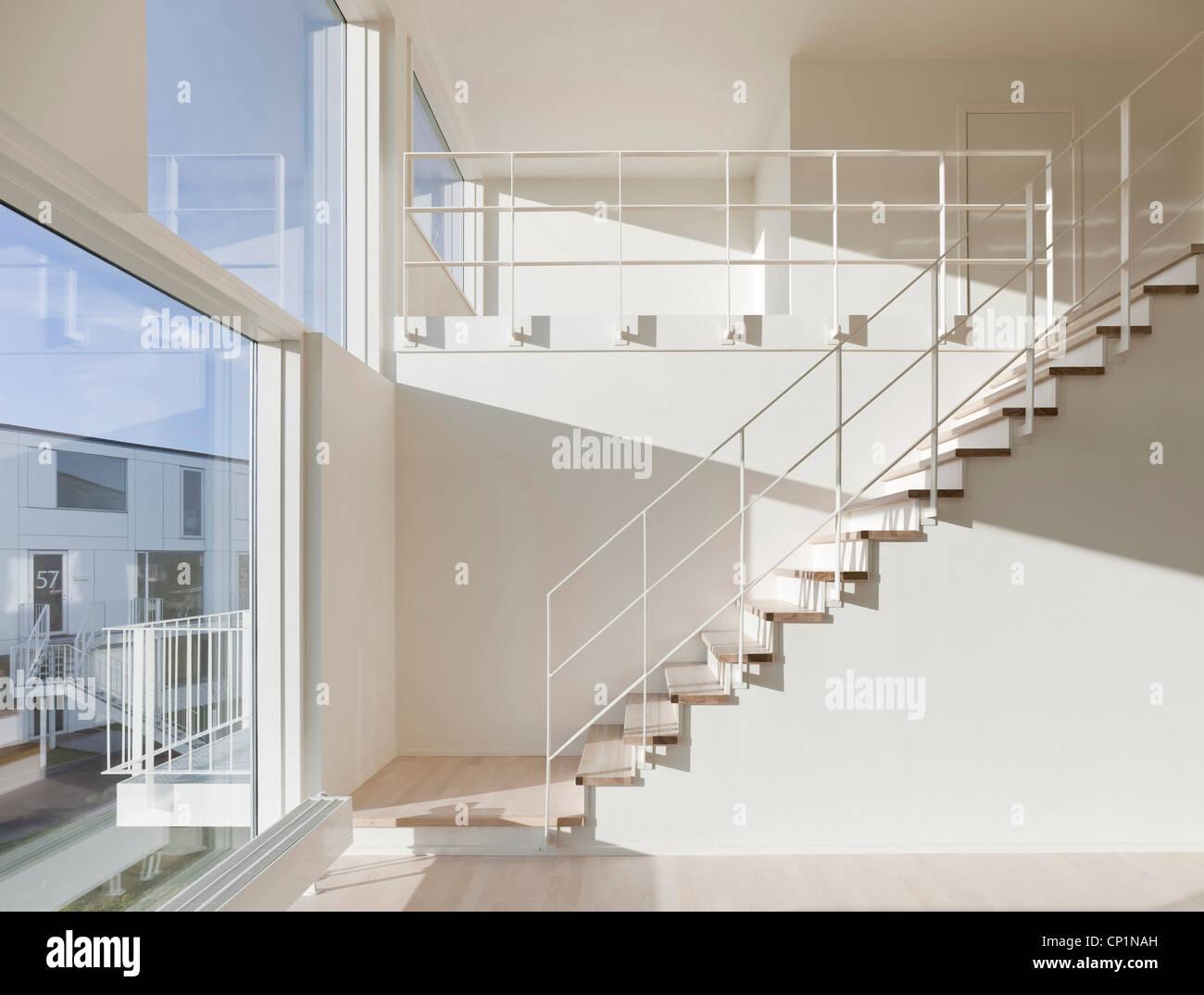 Trekroner Housing Development, Roskilde. - Stock Image