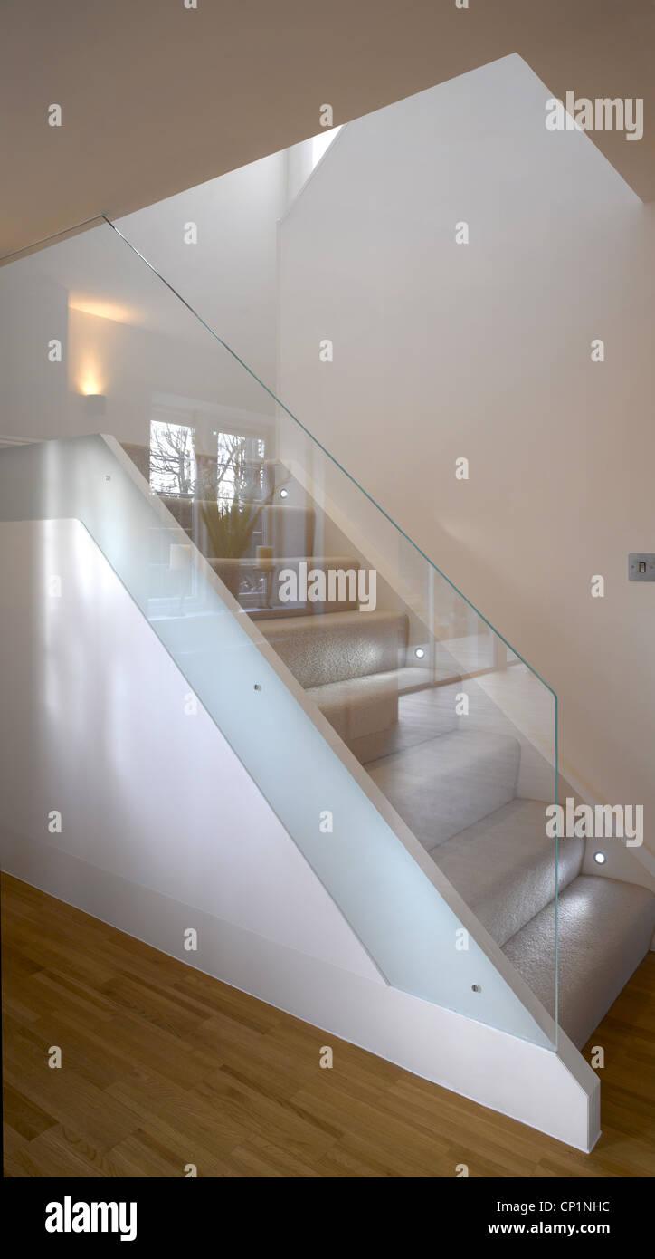 House extension at Heath Park Drive, London by Paul Archer Design Stock Photo
