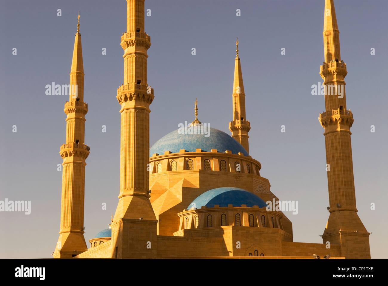 Muhammad Al-Amine mosque, Downtown, Beirut, Lebanon. Stock Photo