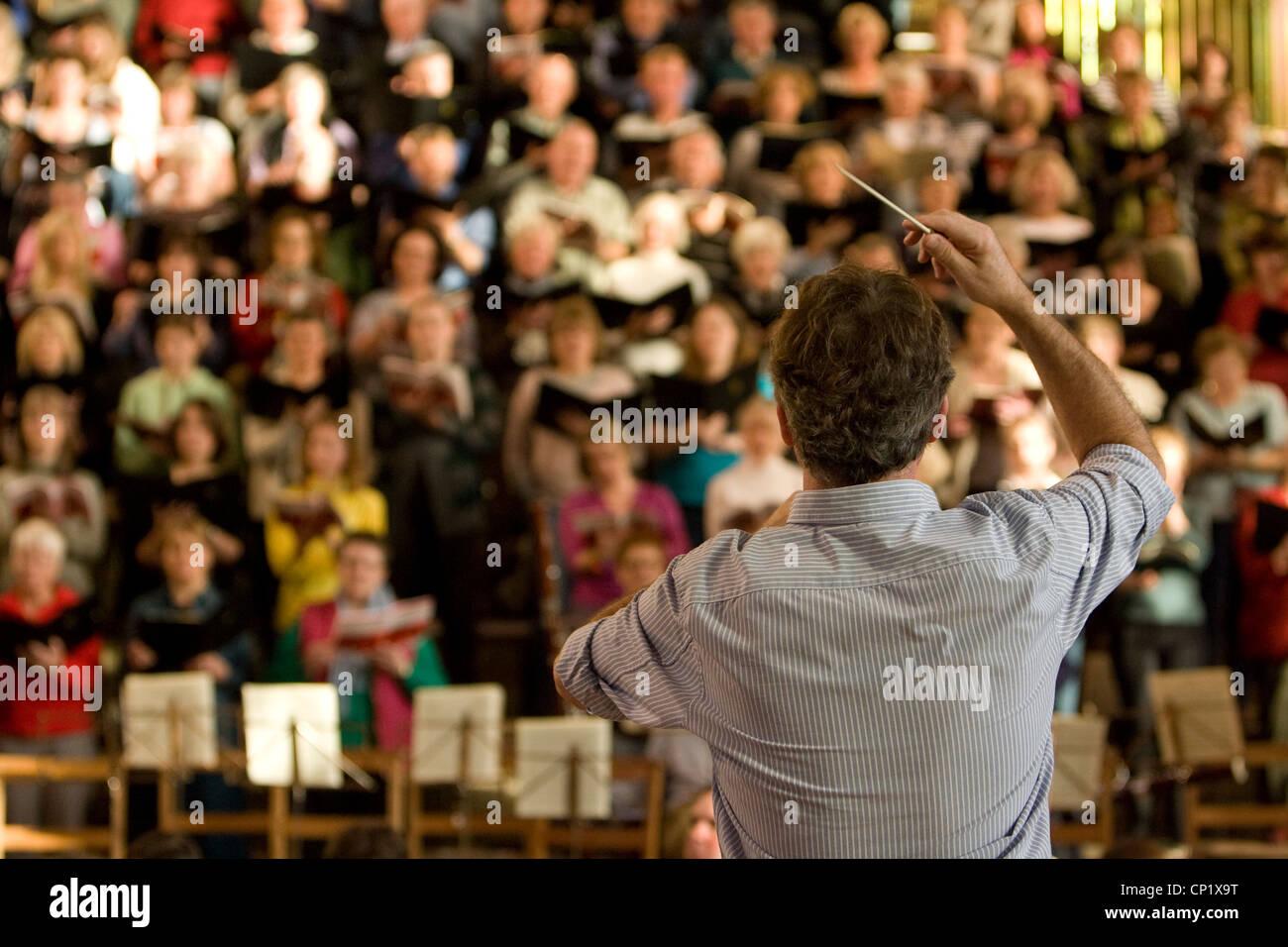 Canterbury Cathedral, Choir, Kent, England, UK - Stock Image