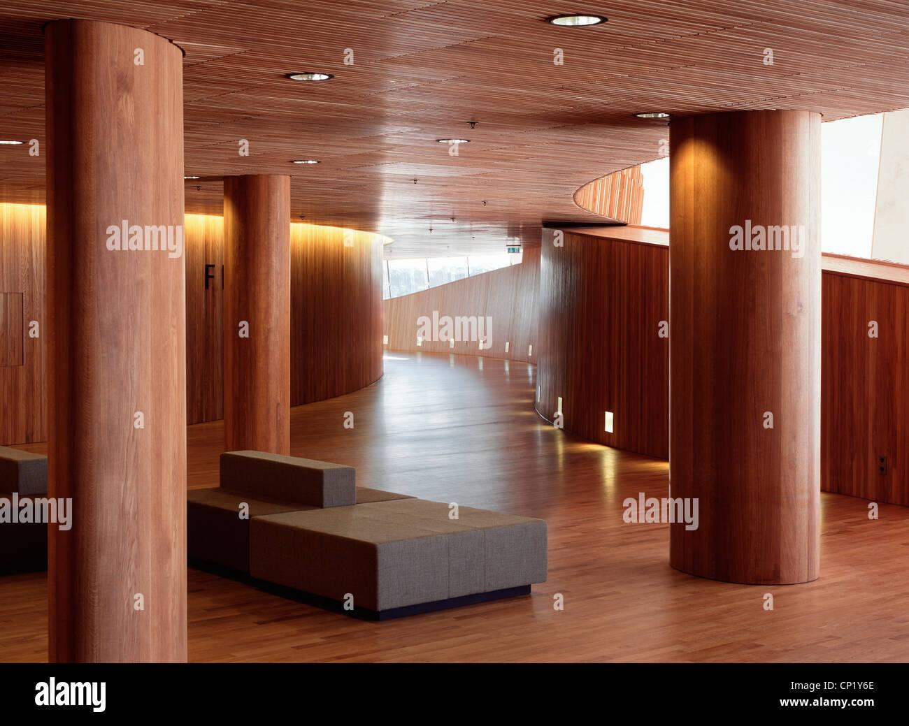 Oslo Opera House, Bjorvika, Architects: Architects: Snohetta - Stock Image