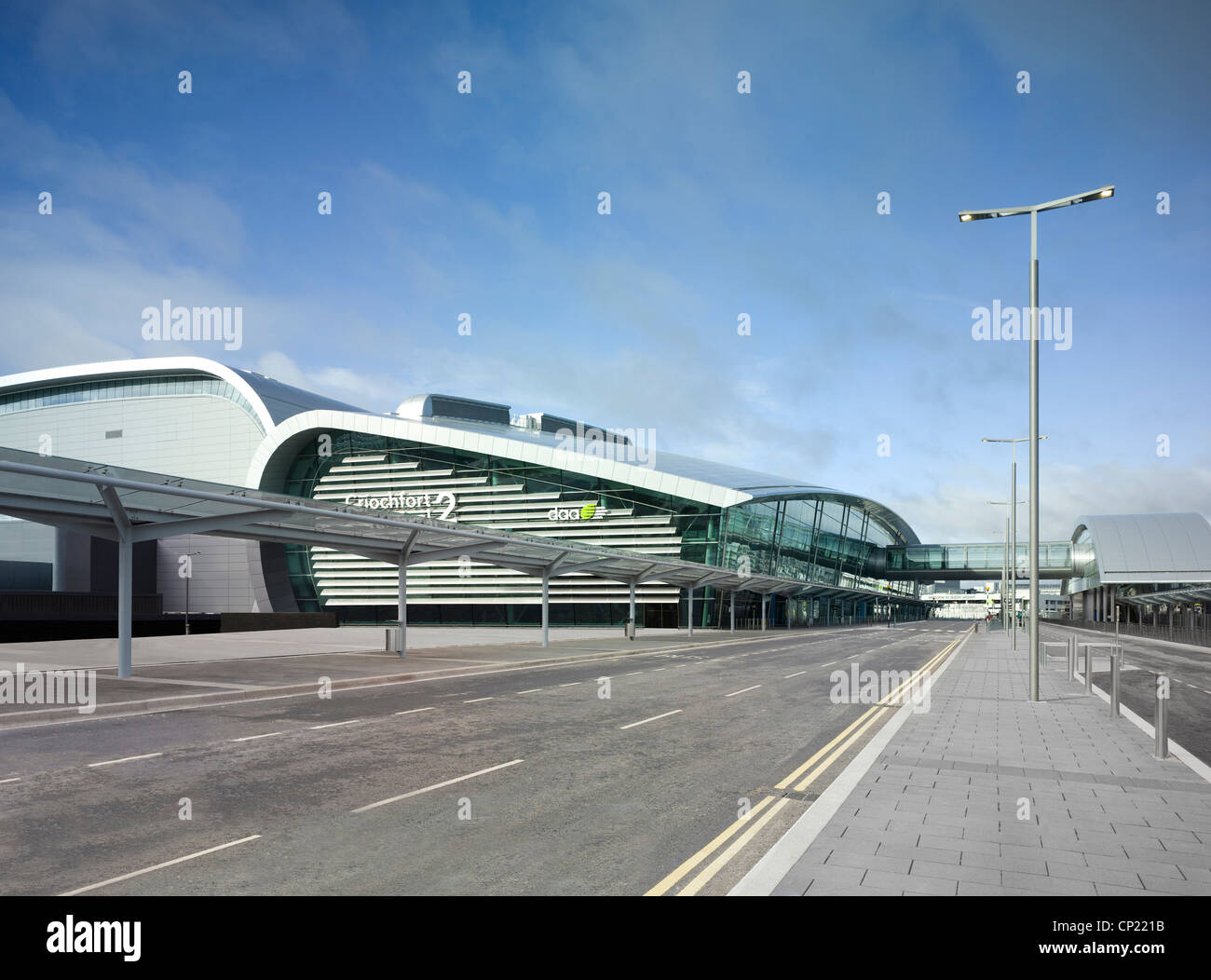 Dublin Airport, Terminal 2. - Stock Image