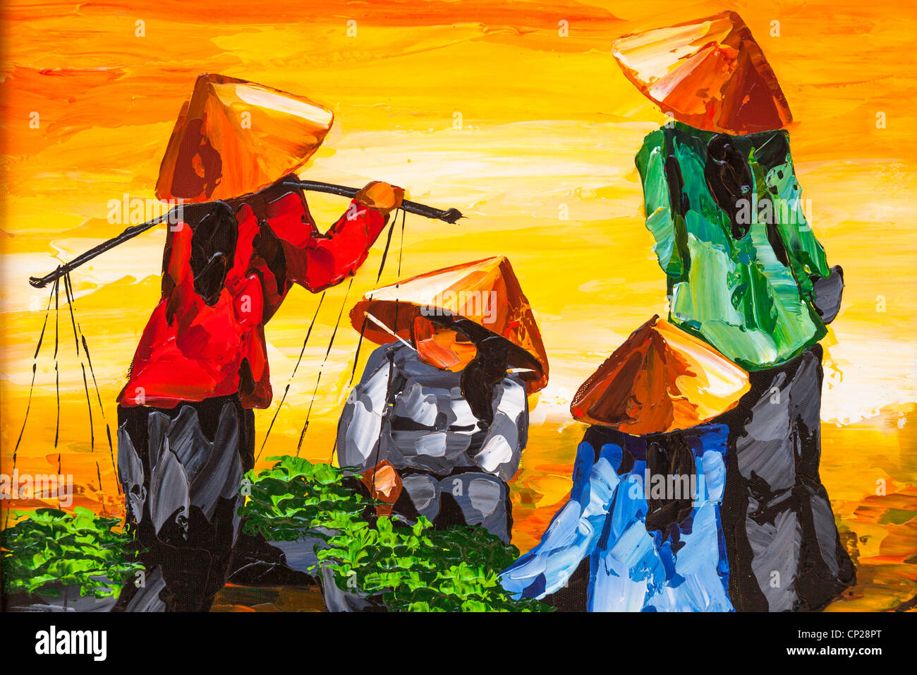 Art Artwork Paintings Vietnam Stock Photos & Art Artwork Paintings ...