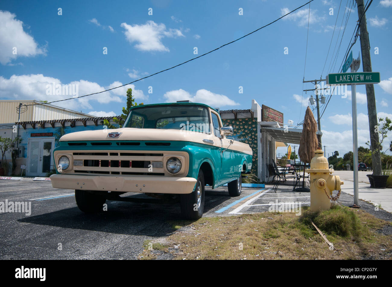 Old Ford pick-up truck in Florida Stock Photo: 47999839 - Alamy